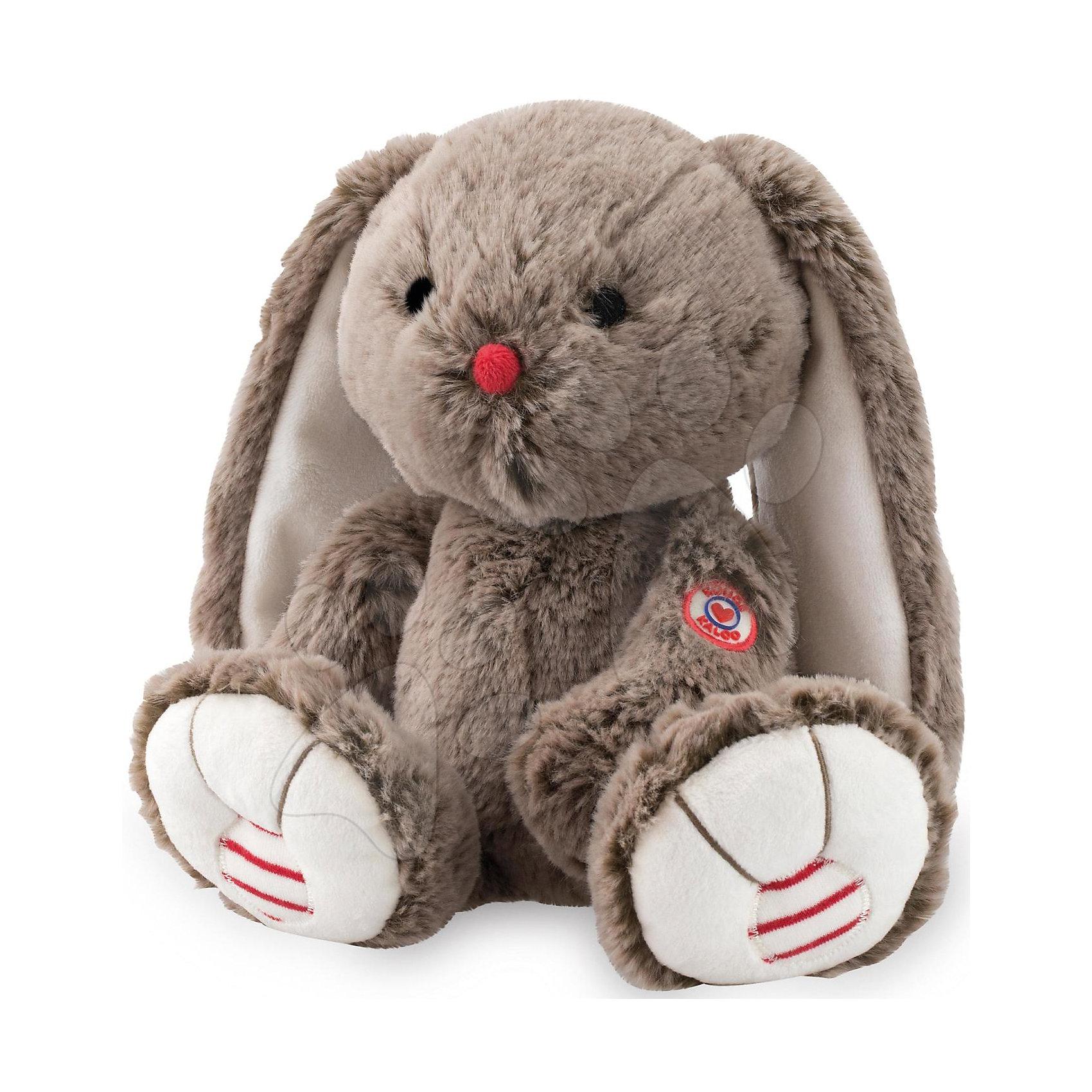 Мягкая игрушка Заяц средний шоколадный, коллекция Руж, KalooЗайцы и кролики<br>Кролик из коллекции Руж – это очаровательная игрушка с длинными ушками, выполнена в шоколадных тонах, носик красного цвета, а лапки украшены красно-белыми вставками. <br>Мягкие игрушки действуют позитивно на детей, обучая их ласке и доброте, улучшают настроение ребенка.<br><br>Дополнительная информация:<br><br>-Материал: ткань, искусственный мех<br>-Высота игрушки: 31 см<br><br>Среднего шоколадного Зайца, коллекции Руж, Kalooo можно купить в нашем интернет-магазине.<br><br>Ширина мм: 105<br>Глубина мм: 120<br>Высота мм: 290<br>Вес г: 400<br>Возраст от месяцев: 0<br>Возраст до месяцев: 1188<br>Пол: Унисекс<br>Возраст: Детский<br>SKU: 4862341