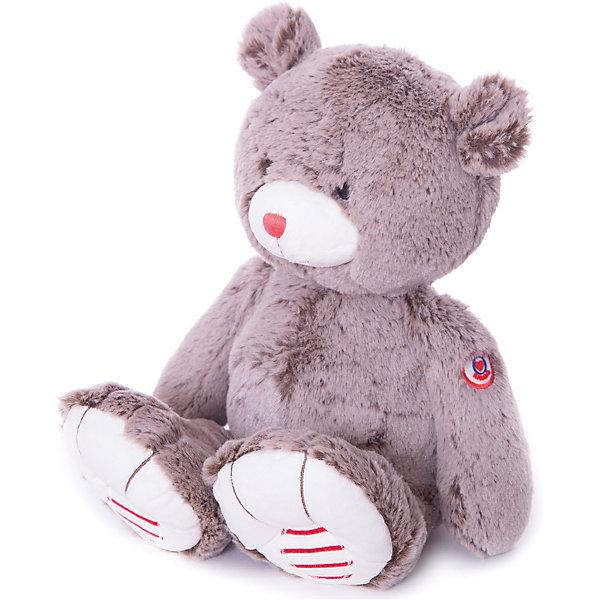 Мишка большой шоколадный, коллекция Руж, KalooМягкие игрушки животные<br>Игрушка Kaloo, выполненная в виде милого медвежонка коричневого цвета, вызовет умиление и улыбку у любого ребенка. <br>Носик медведя красного цвета, а лапки декорированы красно-белыми полосочками, высококачественный плюш, из которого изготовлена игрушка, приятен на ощупь и износостоек.<br><br>Дополнительная информация:<br><br>-Материал: ткань, искусственный мех<br>-Высота игрушки: 38 см<br><br>Большого шоколадного мишку, коллекции Руж, Kaloo можно купить в нашем интернет-магазине.<br><br>Ширина мм: 130<br>Глубина мм: 170<br>Высота мм: 380<br>Вес г: 400<br>Возраст от месяцев: 0<br>Возраст до месяцев: 1188<br>Пол: Унисекс<br>Возраст: Детский<br>SKU: 4862343