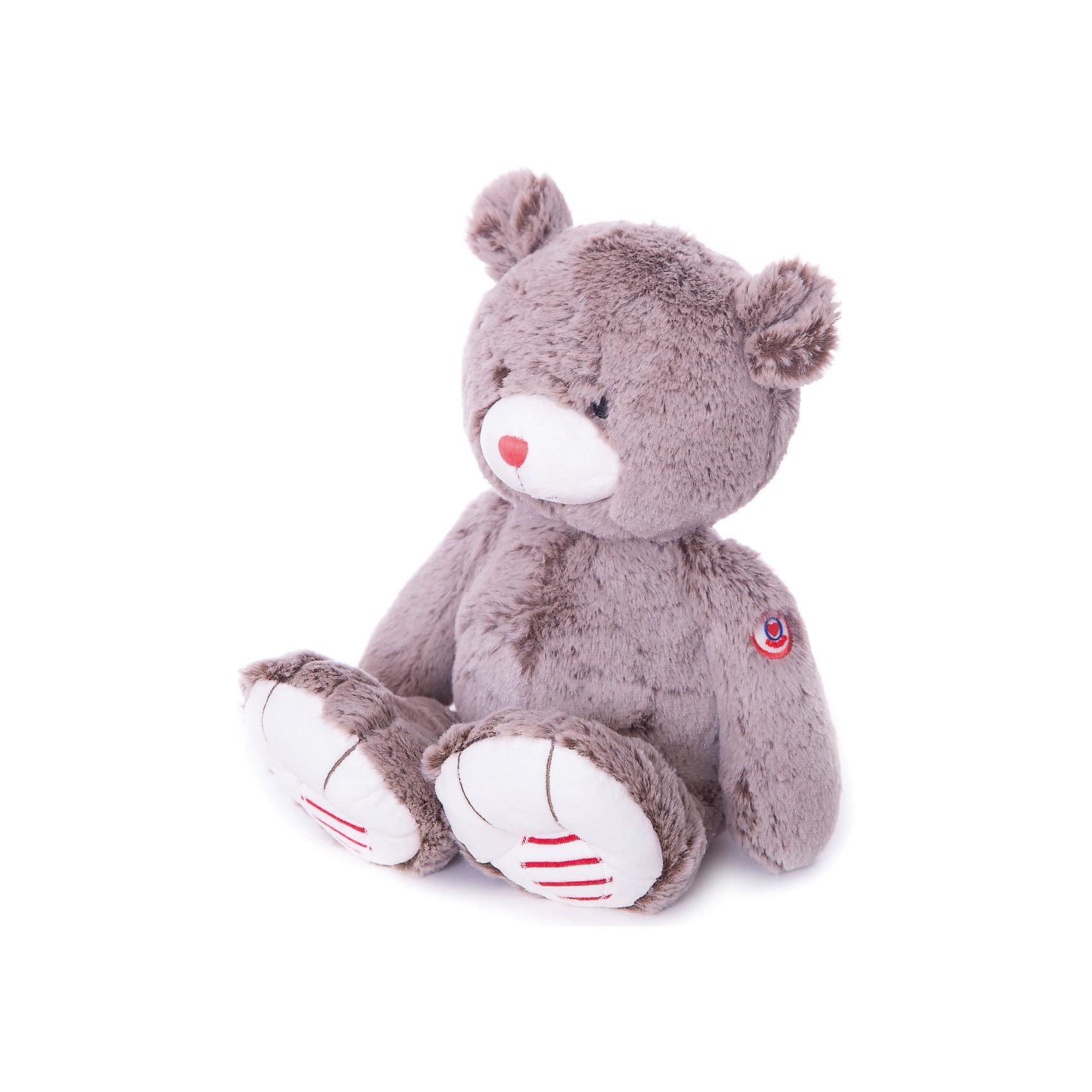 Мишка большой шоколадный, коллекция Руж, KalooИгрушка Kaloo, выполненная в виде милого медвежонка коричневого цвета, вызовет умиление и улыбку у любого ребенка. <br>Носик медведя красного цвета, а лапки декорированы красно-белыми полосочками, высококачественный плюш, из которого изготовлена игрушка, приятен на ощупь и износостоек.<br><br>Дополнительная информация:<br><br>-Материал: ткань, искусственный мех<br>-Высота игрушки: 38 см<br><br>Большого шоколадного мишку, коллекции Руж, Kaloo можно купить в нашем интернет-магазине.<br><br>Ширина мм: 130<br>Глубина мм: 170<br>Высота мм: 380<br>Вес г: 400<br>Возраст от месяцев: 0<br>Возраст до месяцев: 1188<br>Пол: Унисекс<br>Возраст: Детский<br>SKU: 4862343