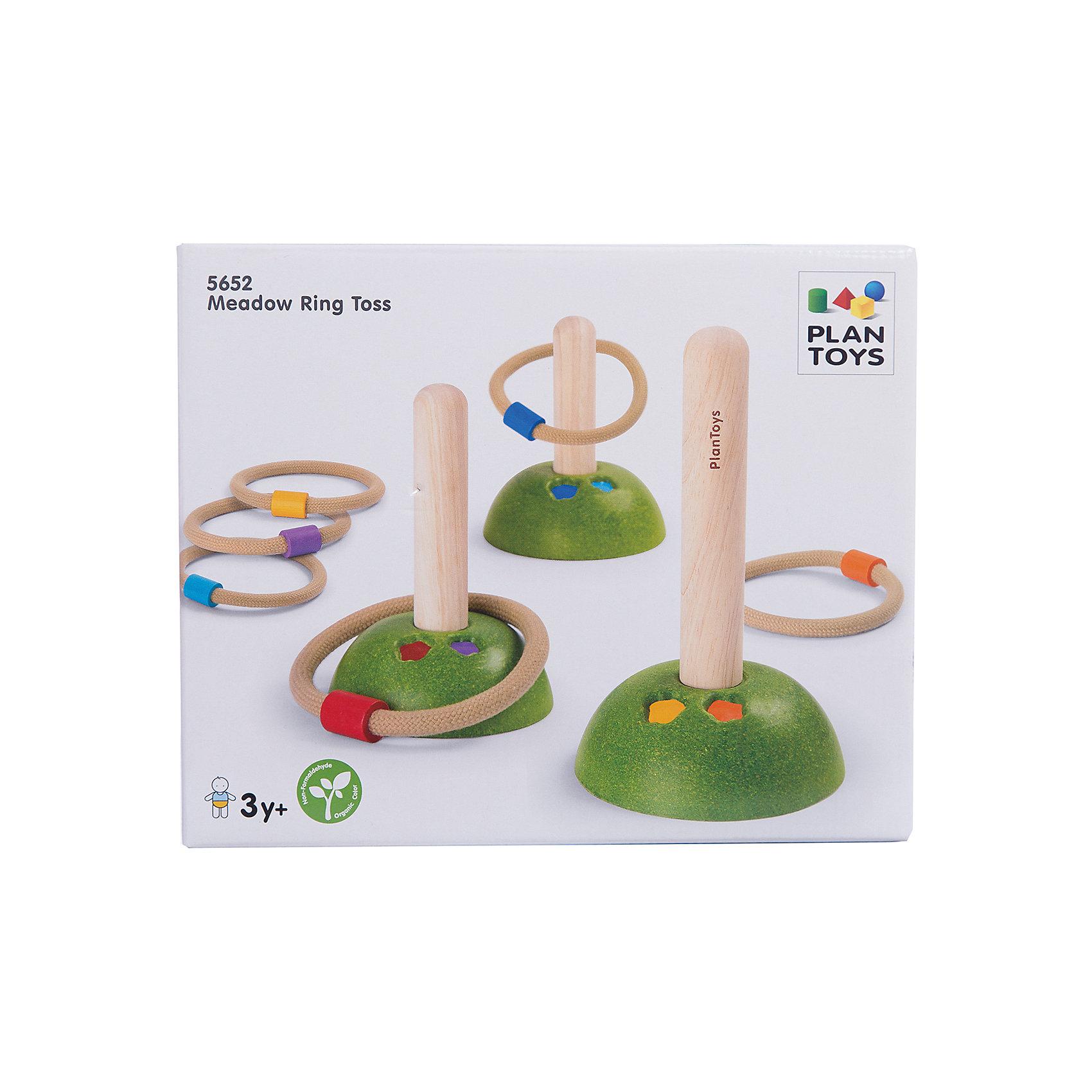 Игра Кольцо для кидания, Plan ToysИгра Кольцо для кидания, развивает ловкость и быстроту реакции, этот интересный набор непременно привлечет внимание малыша. Набор выполнен в яркой цветовой гамме, состоит из 6 колец и 3 подставок. В эту игру можно играть самостоятельно, или поделится на команды, игроки которых будут поочередно бросать на подставки обручи. Игра позволит весело провести время на улице вместе с друзьями.<br><br>Дополнительная информация:<br><br>-Размер игры: 11х18 см<br>-Материал: дерево<br><br>Игру Кольцо для кидания, Plan Toys можно купить в нашем интернет-магазине.<br><br>Ширина мм: 11<br>Глубина мм: 11<br>Высота мм: 18<br>Вес г: 400<br>Возраст от месяцев: 36<br>Возраст до месяцев: 1188<br>Пол: Унисекс<br>Возраст: Детский<br>SKU: 4862355