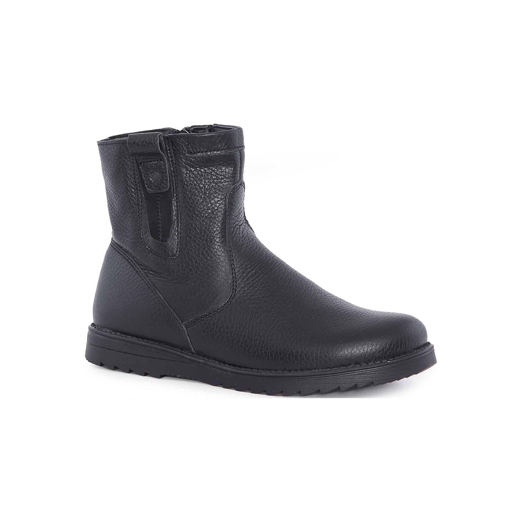 Ботинки для мальчика MursuОбувь<br>Ботинки для мальчика MURSU (Мурсу).<br><br>Характеристики:<br><br>• цвет: черный<br>• температурный режим до -25С<br>• материал верха: натуральная кожа <br>• внутренний материал: натуральная шерсть<br>• стелька: натуральная шерсть<br>• подошва: ТЭП<br>• застежка-молния сбоку <br>• сезон: зима<br><br>Легкие и практичные ботинки MURSU обеспечат тепло и комфорт во время прогулок. Ботинки застегиваются на молнию и имеют рифленую подошву, обладающую хорошей устойчивостью. Классические черные ботинки прекрасно сочетаются с любой одеждой.<br><br>Ботинки для мальчика MURSU (Мурсу) можно купить в нашем интернет-магазине.<br><br>Ширина мм: 262<br>Глубина мм: 176<br>Высота мм: 97<br>Вес г: 427<br>Цвет: черный<br>Возраст от месяцев: 144<br>Возраст до месяцев: 156<br>Пол: Мужской<br>Возраст: Детский<br>Размер: 36,37,34,35,33,32<br>SKU: 4862729