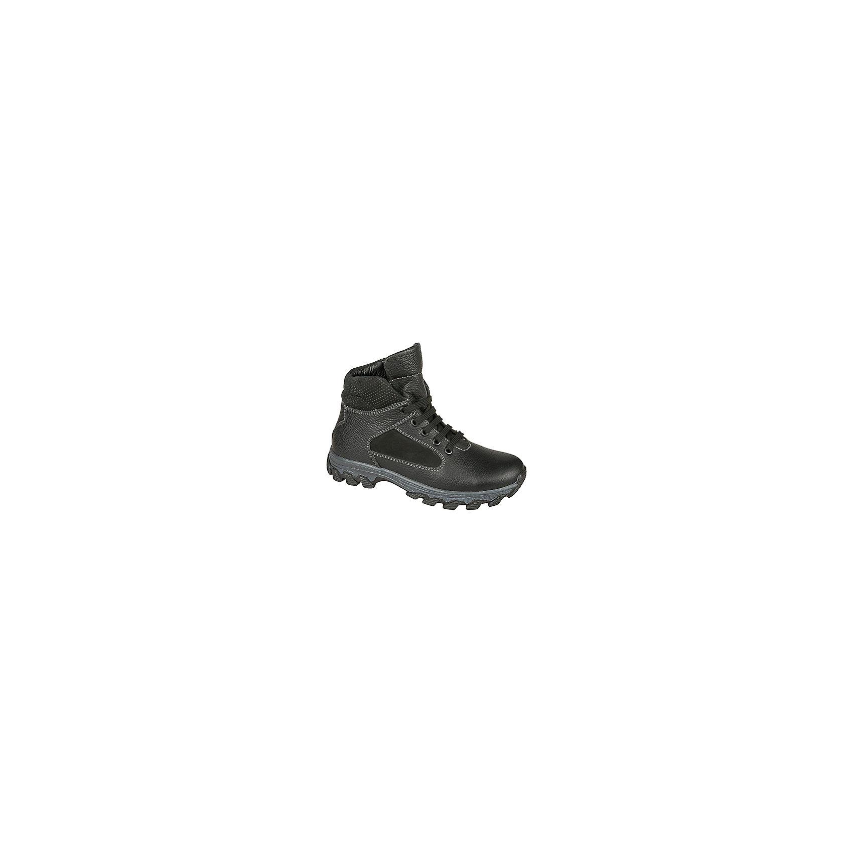 Ботинки для мальчика MursuОбувь<br>Ботинки для мальчика MURSU (Мурсу).<br><br>Характеристики:<br><br>• цвет: черный<br>• температурный режим до -25С<br>• материал верха: натуральная кожа<br>• внутренний материал: натуральная шерсть<br>• стелька: шерсть<br>• застежка-молния сбоку, шнурки<br>• сезон: зима<br><br>Удобные ботинки MURSU сохранят тепло и подарят комфорт на протяжении всей прогулки. Они изготовлены из натуральной кожи с подкладкой из шерсти. Рифленая подошва обеспечит устойчивость на сколькой дороге. Ботинки застегиваются на молнию сбоку и имеют шнуровку по толщине ноги спереди. Легкие удобные ботинки - отличный выбор для зимних прогулок!<br><br>Ботинки для мальчика MURSU (Мурсу) вы можете купить в нашем интернет-магазине.<br><br>Ширина мм: 262<br>Глубина мм: 176<br>Высота мм: 97<br>Вес г: 427<br>Цвет: черный<br>Возраст от месяцев: 144<br>Возраст до месяцев: 156<br>Пол: Мужской<br>Возраст: Детский<br>Размер: 36,39,37,38<br>SKU: 4862743