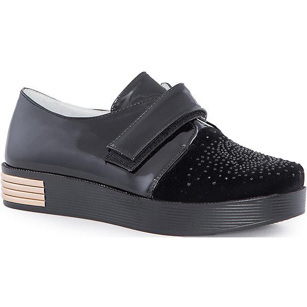 Полуботинки для девочки MursuОбувь<br>Полуботинки для девочки MURSU (Мурсу).<br><br>Характеристики: <br><br>• цвет: черный<br>• нарядная обувь, школьная обувь, повседневная обувь<br>• материал: искусственная кожа<br>• подкладка: натуральная кожа<br>• стелька: натуральная кожа<br>• подошва: ТЭП<br>• застежка-липучка<br><br>Ботинки MURSU изготовлены из натуральной высококачественной кожи. Они застегиваются на липучку спереди. Плотная высокая подошва обеспечит удобство во время ношения. Черная расцветка с золотой вставкой хорошо сочетается с любой верхней одеждой. Стильные удобные полуботинки - прекрасный выбор для прогулок!<br><br>Полуботинки для девочки MURSU (Мурсу) можно приобрести в нашем интернет-магазине.<br>Ширина мм: 262; Глубина мм: 176; Высота мм: 97; Вес г: 427; Цвет: черный; Возраст от месяцев: 144; Возраст до месяцев: 156; Пол: Женский; Возраст: Детский; Размер: 36,35,37,34,33; SKU: 4862804;