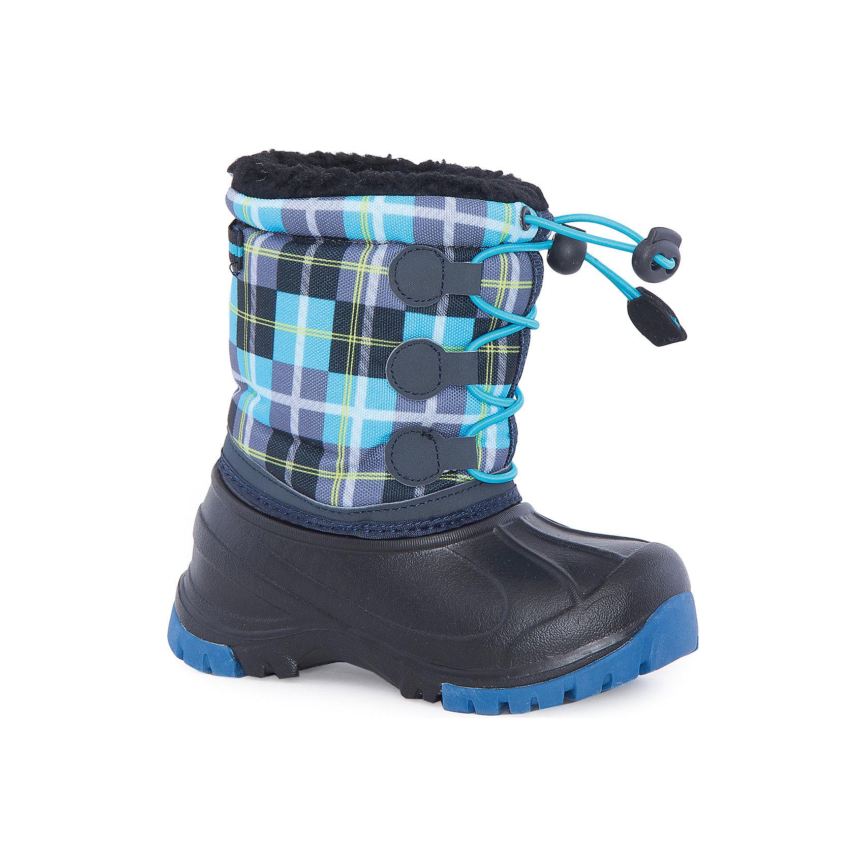 Сноубутсы для мальчика MursuОбувь<br>Сноубутсы для мальчика MURSU (Мурсу).<br><br>Характеристики:<br><br>• цвет: голубой<br>• температурный режим до -25С<br>• материал верха: искусственная кожа, текстиль<br>• внутренний материал: мех<br>• стелька: мех<br>• утяжка по всей высоте сноубутсов<br>• сезон: зима<br><br>Сноубутсы MURSU изготовлены из искусственной кожи и текстиля. Меховая подкладка сохранит  ноги в тепле при низкой температуре. Рифленая подошва обеспечит дополнительную устойчивость на скользкой дороге. Спереди есть удобная резинка, позволяющая затянуть сноубутсы по толщине ноги. Эти сноубутсы подарят ребенку комфорт и тепло!<br><br>Сноубутсы для мальчика MURSU (Мурсу) можно купить в нашем интернет-магазине.<br><br>Ширина мм: 262<br>Глубина мм: 176<br>Высота мм: 97<br>Вес г: 427<br>Цвет: голубой<br>Возраст от месяцев: 24<br>Возраст до месяцев: 36<br>Пол: Мужской<br>Возраст: Детский<br>Размер: 26,25,23,22,24,27<br>SKU: 4863057