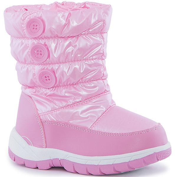Дутики для девочки MursuОбувь<br>Характеристики товара:<br><br>• цвет: розовый<br>• материал верха: текстиль, искусственная кожа<br>• материал подкладки: шерсть, мех<br>• материал подошвы: ПВХ<br>• температурный режим: от -15° до +5° С<br>• верх не продувается, пропитка от грязи и влаги<br>• антискользящая подошва<br>• застежка: молния<br>• толстая устойчивая подошва<br>• съемные стельки с теплосберегающим эффектом<br>• усиленные пятка и носок<br>• страна бренда: Финляндия<br>• страна изготовитель: Китай<br><br>Обувь для детей в холодное время года должна быть подобрана особенно тщательно! Зная переменчивость погоды в России, хорошая обувь должна не только сохранять тепло, но и защищать от влаги и грязи. Такие сноубутсы от известного финского бренда обеспечат ребенку необходимый уровень комфорта, а утепленная подкладка позволит ножкам оставаться теплыми. Обувь легкая, она без труда надевается и снимается, отлично сидит на ноге. <br>Продукция от бренда MURSU - это качественные товары, созданные с применением новейших технологий. При производстве используются только проверенные сертифицированные материалы. Обувь отличается модным дизайном и продуманной конструкцией. Изделие производится из качественных и проверенных материалов, которые безопасны для детей.<br><br>Дутики для девочки от бренда MURSU (Мурсу) можно купить в нашем интернет-магазине.<br><br>Ширина мм: 257<br>Глубина мм: 180<br>Высота мм: 130<br>Вес г: 420<br>Цвет: розовый<br>Возраст от месяцев: 96<br>Возраст до месяцев: 108<br>Пол: Женский<br>Возраст: Детский<br>Размер: 32,30,28,33,31,29<br>SKU: 4863183