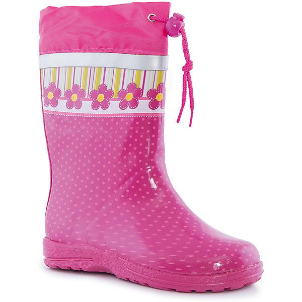 Резиновые сапоги для девочки Mursu