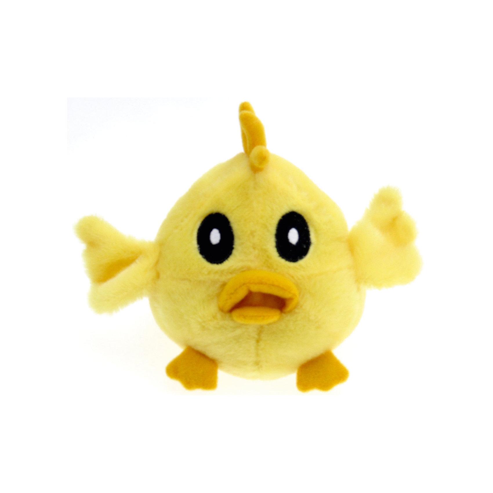 Игрушка Mini Animals Balls Цыпленок, Woody OTimeМягкие игрушки животные<br>Игрушка Mini Animals Balls Цыпленок, Woody OTime.<br><br>Характеристика:<br><br>• Материал: текстиль, плюш.    <br>• Высота игрушки: 12 см.<br>• Звуковые эффекты. <br>• Мягкая, приятная на ощупь.<br><br>Маленький желтый цыпленок обязательно понравится ребятам! Игрушки серии Веселая ферма очень мягкие и приятные на ощупь, выполнены из высококачественных нетоксичных материалов безопасных даже для малышей. Цыпленок имеет большие выразительные глаза, забавный хохолок и весело пищит, если на него нажать. <br><br>Игрушку Mini Animals Balls Цыпленок, Woody OTime, можно купить в нашем интернет-магазине.<br><br>Ширина мм: 130<br>Глубина мм: 90<br>Высота мм: 70<br>Вес г: 50<br>Возраст от месяцев: 36<br>Возраст до месяцев: 180<br>Пол: Унисекс<br>Возраст: Детский<br>SKU: 4863896