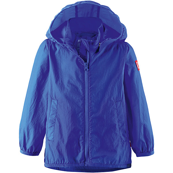 Куртка ReimaОдежда<br>Куртка Reima (Рейма), синий от известного финского производителя  детской одежды Reima. Легкая куртка для девочки выполнена из полиамида, который обладает высокой износоустойчивостью, воздухопроницаемыми, водооталкивающими и грязеотталкивающими свойствами. Изделие устойчиво к изменению формы и цвета даже при длительном использовании. Куртка имеет классическую форму: прямой силуэт с удлиненной спинкой, застежка-молния с защитой у подбородка, капюшон, боковые втачные карманы и окантовка на рукавах и по низу изделия. Куртка имеет полиуретановое покрытие, что делает ее непромокаемой даже в дождливую погоду.    <br><br>Дополнительная информация:<br><br>- Предназначение: повседневная одежда для прогулок и активного отдыха<br>- Цвет: синий<br>- Пол: для мальчика<br>- Состав: 100% полиамид, полиуретановое покрытие<br>- Сезон: весна-осень<br>- Особенности ухода: стирать изделие, предварительно вывернув его на левую сторону, не использовать отбеливающие вещества<br><br>Подробнее:<br><br>• Для детей в возрасте: от 2 лет и до 3 лет<br>• Страна производитель: Китай<br>• Торговый бренд: Reima, Финляндия<br><br>Куртку Reima (Рейма), синий можно купить в нашем интернет-магазине.<br><br>Ширина мм: 356<br>Глубина мм: 10<br>Высота мм: 245<br>Вес г: 519<br>Возраст от месяцев: 12<br>Возраст до месяцев: 18<br>Пол: Унисекс<br>Возраст: Детский<br>Размер: 86,92,98<br>SKU: 4863928