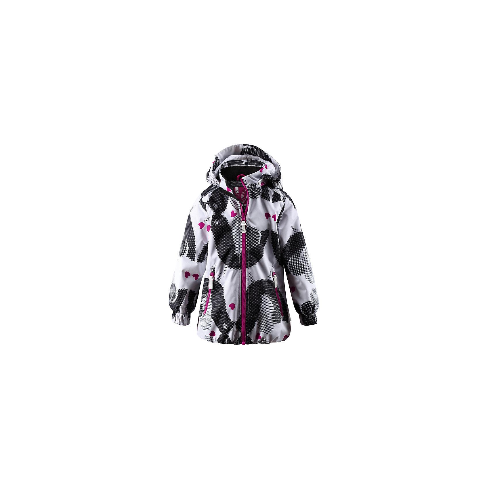 Куртка ReimaКуртка Reima (Рейма), графитовый от известного финского производителя  детской одежды Reima. Куртка-ветровка выполнена из полиэстера, который обладает высокой износоустойчивостью, воздухопроницаемыми, водооталкивающими и грязеотталкивающими свойствами. Изделие устойчиво к изменению формы и цвета даже при длительном использовании. Куртка имеет классическую форму: прямой силуэт, съемный капюшон в форме конуса с оригинальным аксессуаром-сердечком, воротник-стойка, застежка-молния с защитой у подбородка и 2 боковых прорезных кармана на молнии. Манжеты рукавов на широкой резинке, также на спинке куртка присборена резинкой, что обеспечивает хорошую посадку изделия.   Куртка выполнена в графитовом цвете с оригинальным принтом. Ветровка идеально подходит для весенних и осенних прогулок.<br><br>Дополнительная информация:<br><br>- Предназначение: повседневная одежда для прогулок и активного отдыха<br>- Цвет: графитовый<br>- Пол: для девочки<br>- Состав: 100% полиэстер, полиуретановое покрытие<br>- Сезон: весна-осень (демисезонная)<br>- Особенности ухода: стирать изделие, предварительно вывернув его на левую сторону, не использовать отбеливающие вещества, загрязнения с поверхности удаляются влажной губкой<br><br>Подробнее:<br><br>• Для детей в возрасте: от 8 лет и до 9 лет<br>• Страна производитель: Китай<br>• Торговый бренд: Reima, Финляндия<br><br>Куртку Reima (Рейма), графитовый можно купить в нашем интернет-магазине.<br><br>Ширина мм: 356<br>Глубина мм: 10<br>Высота мм: 245<br>Вес г: 519<br>Возраст от месяцев: 72<br>Возраст до месяцев: 84<br>Пол: Унисекс<br>Возраст: Детский<br>Размер: 122,128,140,110,134,116<br>SKU: 4864006