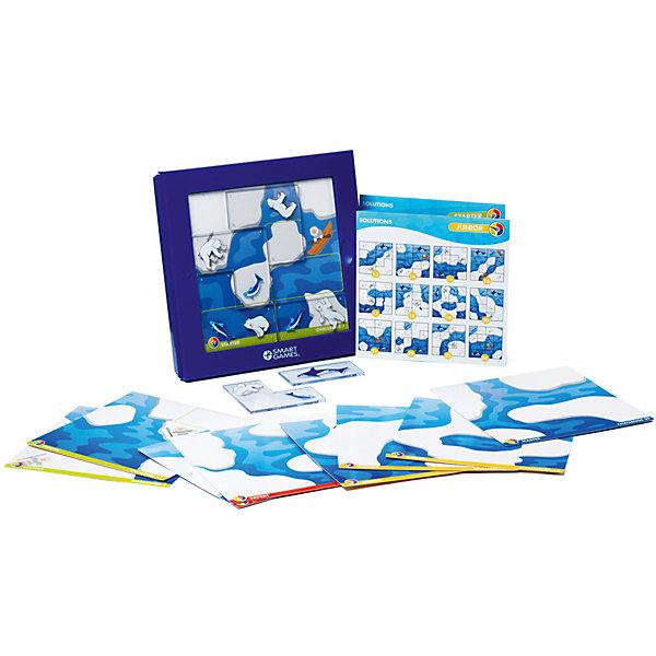 Логическая игра Камуфляж, Северный Полюс, BondibonСтратегические настольные игры<br>С логической игрой Камуфляж, Северный Полюс Ваш ребенок весело и интересно проведет время. Игра поможет активизировать тактическое мышление и логику, для того чтобы справиться с заданиями различного уровня сложности. Цель головоломки – расположить фигурки животных таким образом, чтобы рыбки оказались в воде, а медведь на льдине, и они не закрывали изображение эскимоса. В игре есть 48 карточек с заданиями, если какое-то из них не удается решить, можно обратиться к буклету с подсказками. <br><br>Дополнительная информация:<br><br>- Возраст: от 6 лет<br>- В комплекте: игровое поле, 24 карточки, 6 фишек с рисунками медведей и рыб, книжка с заданиями<br>- Материал: картон, пластик<br>- Размер упаковки: 24х4х23 см<br>- Вес: 0.75 кг<br><br>Логическую игру Камуфляж, Северный Полюс, Bondibon можно купить в нашем интернет-магазине.<br>Ширина мм: 240; Глубина мм: 46; Высота мм: 239; Вес г: 750; Возраст от месяцев: 72; Возраст до месяцев: 1188; Пол: Унисекс; Возраст: Детский; SKU: 4864490;