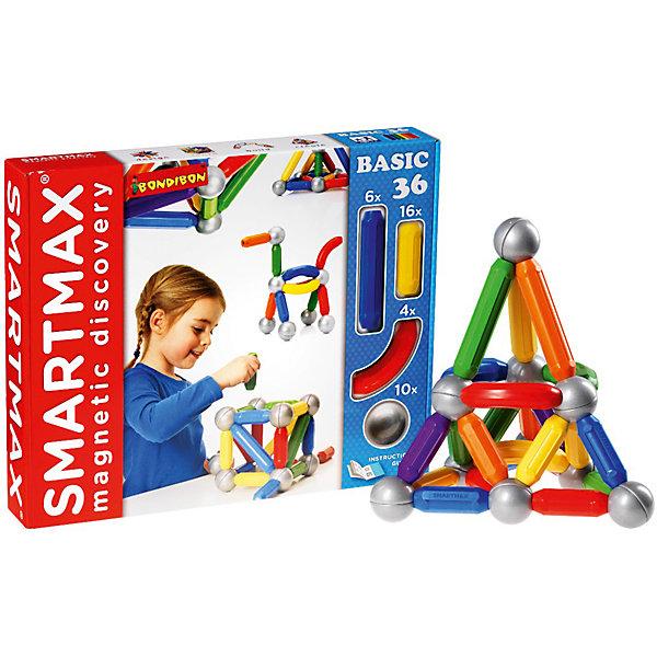 Магнитный конструктор Basic, 36 деталей, BondibonМагнитные конструкторы<br>С помощью магнитного конструктора Basic Ваш ребенок сможет создавать любые конструкции, фантазируя и экспериментируя. Конструктор состоит из разноцветных палочек и серебристых шаров, внутри которых спрятаны магниты. Детали легко притягиваются между собой, вызывая у ребенка огромный интерес к процессу сборки.<br><br>Дополнительная информация:<br><br>- Возраст: от 3 лет<br>- В комплекте: 26 разноцветных палочек, 10 серебристых шариков, инструкция<br>- Материал: пластик, магнит, металл<br>- Размер упаковки: 42х6х35 см<br>- Вес: 1.47 кг<br><br>Магнитный конструктор Basic, 36 деталей, Bondibon можно купить в нашем интернет-магазине.<br>Ширина мм: 425; Глубина мм: 60; Высота мм: 353; Вес г: 1470; Возраст от месяцев: 12; Возраст до месяцев: 144; Пол: Унисекс; Возраст: Детский; SKU: 4864497;