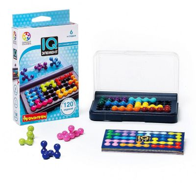 Логическая игра IQ-Элемент, Bondibon фото-1
