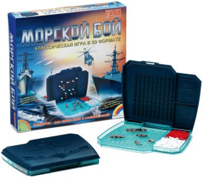 Настольная игра Морской бой , Bondibon
