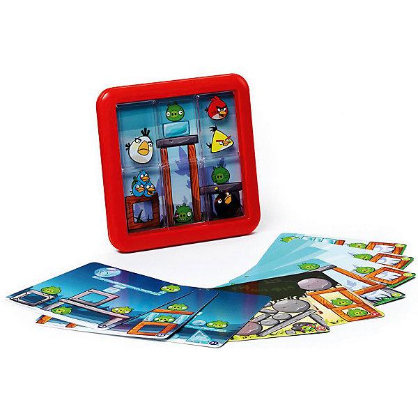 Логическая игра Angry Birds Playground НаверхуСтратегические настольные игры<br>В увлекательной головоломке Angry Birds Playground Вам предстоит управлять злыми птичками, цель которых оседлать зеленых свиней. Для этого нужно передвигать изображения птиц по игровому полю, до тех пор, пока каждое из них не закроет картинку со свинкой. В игре содержится 48 заданий, разгадать которые не так то просто, как кажется на первый взгляд.<br><br>Дополнительная информация:<br><br>- Возраст: от 5 лет<br>- В комплекте: игровая доска с 5 прозрачными плитками, 24 карточки с 48 заданиями, инструкция<br>- Материал: картон, пластик<br>- Размер упаковки: 15х4х18 см<br>- Вес: 0.34 кг<br><br>Логическую игру Angry Birds Playground Наверху можно купить в нашем интернет-магазине.<br>Ширина мм: 155; Глубина мм: 40; Высота мм: 160; Вес г: 342; Возраст от месяцев: 60; Возраст до месяцев: 1188; Пол: Унисекс; Возраст: Детский; SKU: 4864530;