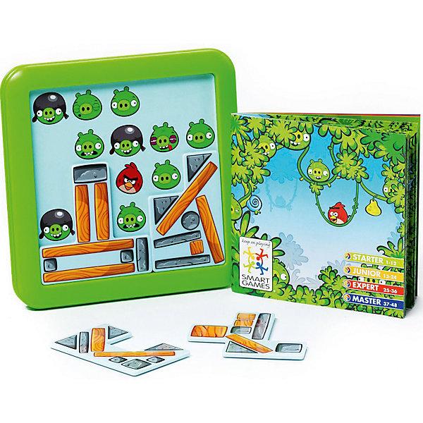Логическая игра Angry Birds Playground Под конструкциейСтратегические настольные игры<br>В головоломке Angry Birds Playground ребенку предстоит соорудить крепость, чтобы оградить птичек от враждебных свиней. Передвигая детали, нужно закрыть изображения свинок и оставить видимыми только определенных птиц, которые указаны в задании. Всего в игре представлено 48 задач, различного уровня сложности.<br><br>Дополнительная информация:<br><br>- Возраст: от 7 лет<br>- В комплекте: игровое поле, блоки конструкции, инструкция<br>- Материал: картон, пластик<br>- Размер упаковки: 15х5х18 см<br>- Вес: 0.3 кг<br><br>Логическую игру Angry Birds Playground Под конструкцией можно купить в нашем интернет-магазине.<br><br>Ширина мм: 156<br>Глубина мм: 56<br>Высота мм: 180<br>Вес г: 300<br>Возраст от месяцев: 84<br>Возраст до месяцев: 1188<br>Пол: Унисекс<br>Возраст: Детский<br>SKU: 4864531
