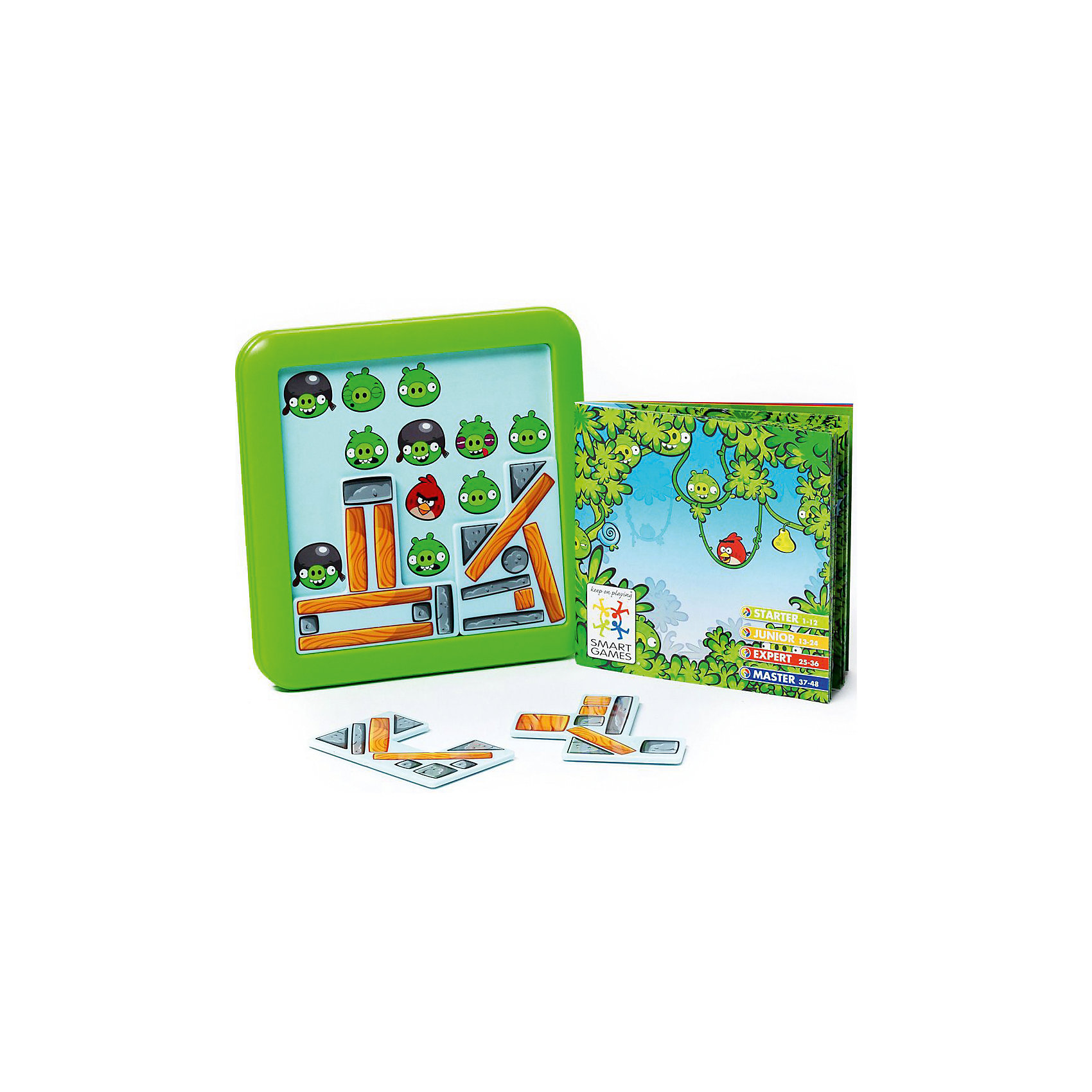 Логическая игра Angry Birds Playground Под конструкциейВ головоломке Angry Birds Playground ребенку предстоит соорудить крепость, чтобы оградить птичек от враждебных свиней. Передвигая детали, нужно закрыть изображения свинок и оставить видимыми только определенных птиц, которые указаны в задании. Всего в игре представлено 48 задач, различного уровня сложности.<br><br>Дополнительная информация:<br><br>- Возраст: от 7 лет<br>- В комплекте: игровое поле, блоки конструкции, инструкция<br>- Материал: картон, пластик<br>- Размер упаковки: 15х5х18 см<br>- Вес: 0.3 кг<br><br>Логическую игру Angry Birds Playground Под конструкцией можно купить в нашем интернет-магазине.<br><br>Ширина мм: 156<br>Глубина мм: 56<br>Высота мм: 180<br>Вес г: 300<br>Возраст от месяцев: 84<br>Возраст до месяцев: 1188<br>Пол: Унисекс<br>Возраст: Детский<br>SKU: 4864531