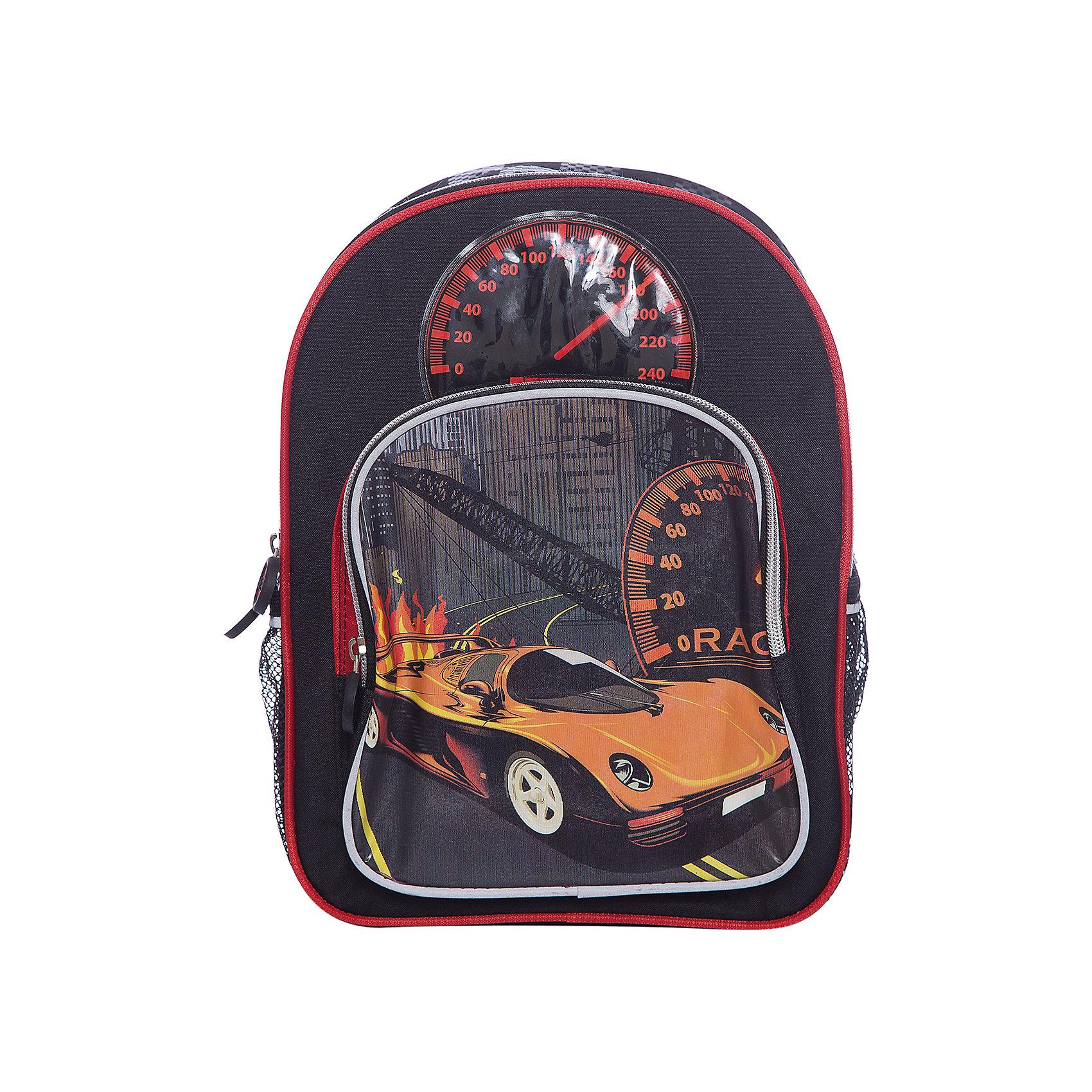 Рюкзак CarШкольные рюкзаки<br>Рюкзак Car, CENTRUM (Центрум) ? рюкзак отечественного бренда детской серии. Рюкзаки этой серии выполнены из непромокаемого и прочного полиэстера высокого качества, отличаются легким весом. <br>Внутреннее устройство рюкзака состоит из одного вместительного отсека. На передней спинке имеется объемный карман на молнии, по бокам рюкзака имеются два сетчатых кармана. Эргономичность рюкзака обеспечивается плотной спинкой и широкими регулируемыми лямками, на которых есть светоотражающие элементы. Для удобства переноса рюкзака в руках имеется  ручка-петля. <br>Рюкзак выполнен в стильном дизайне: на передней стенке изображен спидометр, на объемном кармане – гоночный автомобиль.<br>Рюкзак Car, CENTRUM (Центрум) ? это многофункциональность, качество и удобство использования. <br><br>Дополнительная информация:<br><br>- Вес: 345 г<br>- Габариты (Д*Г*В): 34*12*25 см<br>- Цвет: черный, красный<br>- Материал: полиэстер<br>- Сезон: круглый год<br>- Коллекция: детская<br>- Пол: мужской<br>- Предназначение: для школы, для занятий спортом, для путешествий <br>- Особенности ухода: можно чистить влажной щеткой или губкой<br><br>Подробнее:<br><br>• Для детей в возрасте: от 3 лет и до 10 лет<br>• Страна производитель: Китай<br>• Торговый бренд: CENTRUM<br><br>Рюкзак Car, CENTRUM (Центрум) можно купить в нашем интернет-магазине.<br><br>Ширина мм: 340<br>Глубина мм: 120<br>Высота мм: 250<br>Вес г: 350<br>Возраст от месяцев: 36<br>Возраст до месяцев: 120<br>Пол: Унисекс<br>Возраст: Детский<br>SKU: 4865225