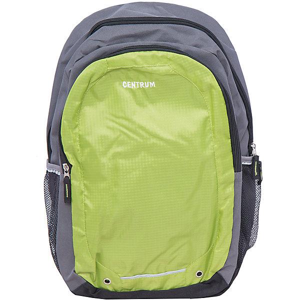 Детский рюкзакРюкзаки<br>Детский рюкзак, CENTRUM (Центрум) ? рюкзак отечественного бренда детской серии. Рюкзаки этой серии выполнены из непромокаемого и прочного полиэстера высокого качества, отличаются легким весом. <br>Внутреннее устройство рюкзака состоит из одного вместительного отсека. По бокам рюкзака имеются два сетчатых кармана. Эргономичность рюкзака обеспечивается плотной спинкой и широкими регулируемыми лямками. Для удобства переноса рюкзака в руках имеется  ручка-петля. <br>Рюкзак выполнен в лаконичном дизайне: передняя стенка выполнена в красном цвете с брендовой надписью, основной фон рюкзака – серый.<br>Детский рюкзак, CENTRUM (Центрум) ? это многофункциональность, качество и удобство использования. <br><br>Дополнительная информация:<br><br>- Вес: 435 г<br>- Габариты (Д*Г*В): 15*33*47,5 см<br>- Цвет: серый, красный<br>- Материал: полиэстер<br>- Сезон: круглый год<br>- Коллекция: детская<br>- Пол: мужской<br>- Предназначение: для школы, для занятий спортом, для путешествий <br>- Особенности ухода: можно чистить влажной щеткой или губкой<br><br>Подробнее:<br><br>• Для детей в возрасте: от 3 лет и до 10 лет<br>• Страна производитель: Китай<br>• Торговый бренд: CENTRUM<br><br>Детский рюкзак, CENTRUM (Центрум) можно купить в нашем интернет-магазине.<br><br>Ширина мм: 150<br>Глубина мм: 330<br>Высота мм: 475<br>Вес г: 380<br>Возраст от месяцев: 36<br>Возраст до месяцев: 120<br>Пол: Женский<br>Возраст: Детский<br>SKU: 4865226