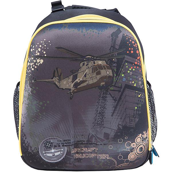 Школьный рюкзак ВертолетРюкзаки<br>Рюкзак Вертолет, CENTRUM (Центрум) ? каркасный рюкзак отечественного бренда детской серии. Рюкзаки этой серии выполнены из непромокаемого и прочного нейлона высокого качества, отличаются легким весом. <br>Внутреннее устройство рюкзака состоит из двух вместительных отсеков. По бокам рюкзака имеются два кармана. Эргономичность рюкзака обеспечивается ортопедической спинкой и широкими регулируемыми лямками. Устойчивость рюкзаку придают жесткое дно и имеющиеся пластиковые ножки. Для удобства переноса рюкзака в руках имеется мягкая ручка. На рюкзаке имеются светоотражающие элементы.<br>Рюкзак выполнен в серо-черных тонах с яркими элементами дизайна. На передней стороне имеется принт военного вертолета.<br>Рюкзак Вертолет, CENTRUM (Центрум) ? это многофункциональность, качество и удобство использования. <br><br>Дополнительная информация:<br><br>- Вес: 790 г<br>- Габариты (Д*Г*В): 17*31,5*38 см<br>- Цвет: черный, желтый, серый<br>- Материал: нейлон, полиэстер<br>- Сезон: круглый год<br>- Коллекция: детская<br>- Пол: мужской<br>- Предназначение: для школы, для занятий спортом, для путешествий <br>- Особенности ухода: можно чистить влажной щеткой или губкой<br><br>Подробнее:<br><br>• Для детей в возрасте: от 3 лет и до 10 лет<br>• Страна производитель: Россия<br>• Торговый бренд: CENTRUM<br><br>Рюкзак Вертолет, CENTRUM (Центрум) можно купить в нашем интернет-магазине.<br><br>Ширина мм: 170<br>Глубина мм: 315<br>Высота мм: 380<br>Вес г: 750<br>Возраст от месяцев: 72<br>Возраст до месяцев: 120<br>Пол: Женский<br>Возраст: Детский<br>SKU: 4865236