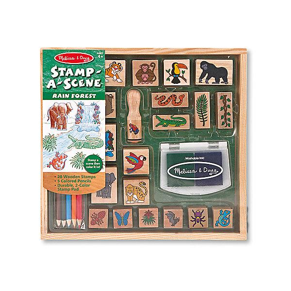 Набор печатей ДжунглиДетские печати и штампы<br>Это огромный набор деревянный штампиков, с помощью которых ребенок сможет себя почувствовать настоящим художником! <br><br>Дополнительная информация:<br><br>- В наборе: деревянная коробка с несколькими отсеками, 20 штампов, подушечка с нетоксичными, легко смываемыми чернилами синего и зеленого цветов, 5 насыщенных цветных карандашей.<br>- Возраст: от 4 лет.<br>- Размер упаковки: 28х4х27 см.<br><br>Купить набор печатей Джунгли можно в нашем магазине.<br><br>Ширина мм: 280<br>Глубина мм: 40<br>Высота мм: 270<br>Вес г: 725<br>Возраст от месяцев: 48<br>Возраст до месяцев: 96<br>Пол: Унисекс<br>Возраст: Детский<br>SKU: 4865267