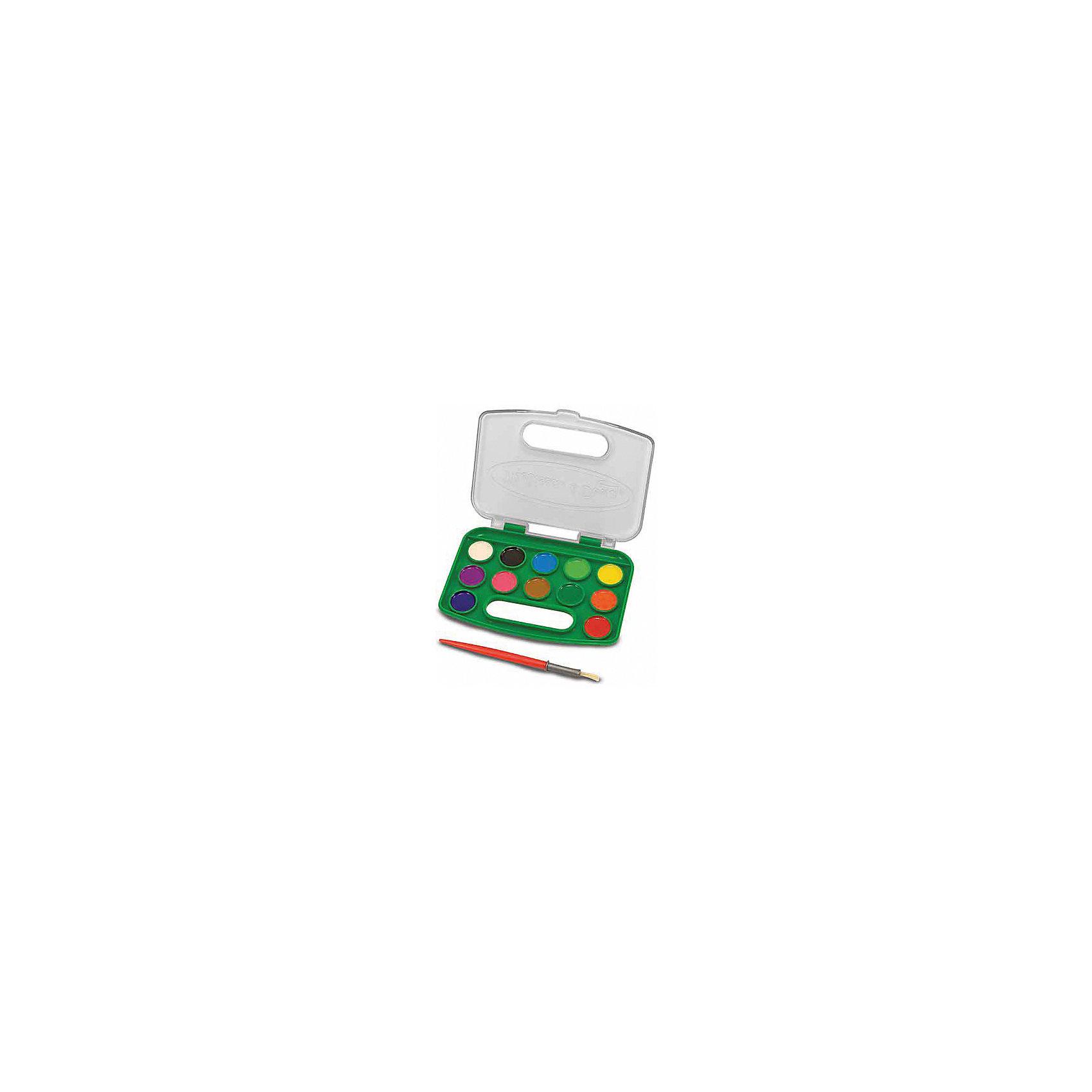 Набор акварельных красок, 12 цветовНабор позволит ребенку полностью проявить свою фантазию и нарисовать множество рисунков разноцветными красками из комплекта.<br><br>Дополнительная информация:<br><br>- Возраст: от 3 лет.<br>- В набор входит: кисточка и краски 12 цветов.<br>- Материал: пластик.<br>- Размер упаковки: 15х1х12 см.<br><br>Купить набор акварельных красок можно в нашем магазине.<br><br>Ширина мм: 150<br>Глубина мм: 10<br>Высота мм: 120<br>Вес г: 113<br>Возраст от месяцев: 36<br>Возраст до месяцев: 120<br>Пол: Унисекс<br>Возраст: Детский<br>SKU: 4865269
