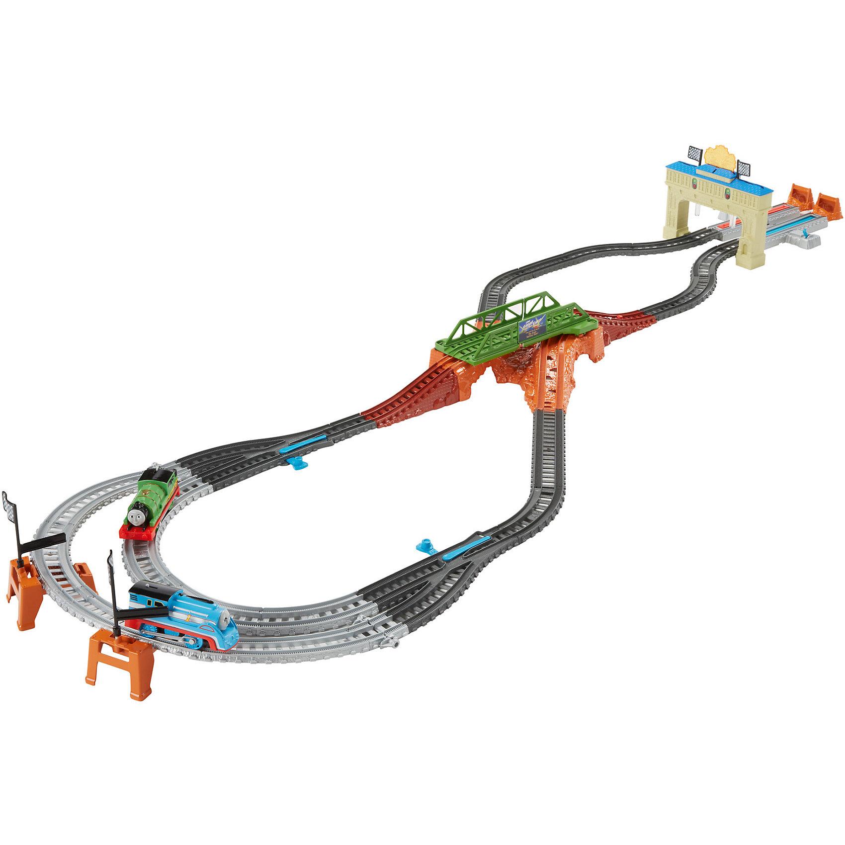 Mattel Набор «Большая гонка Томаса и Перси, Томас и его друзья mattel раскопки динозавров томас и его друзья