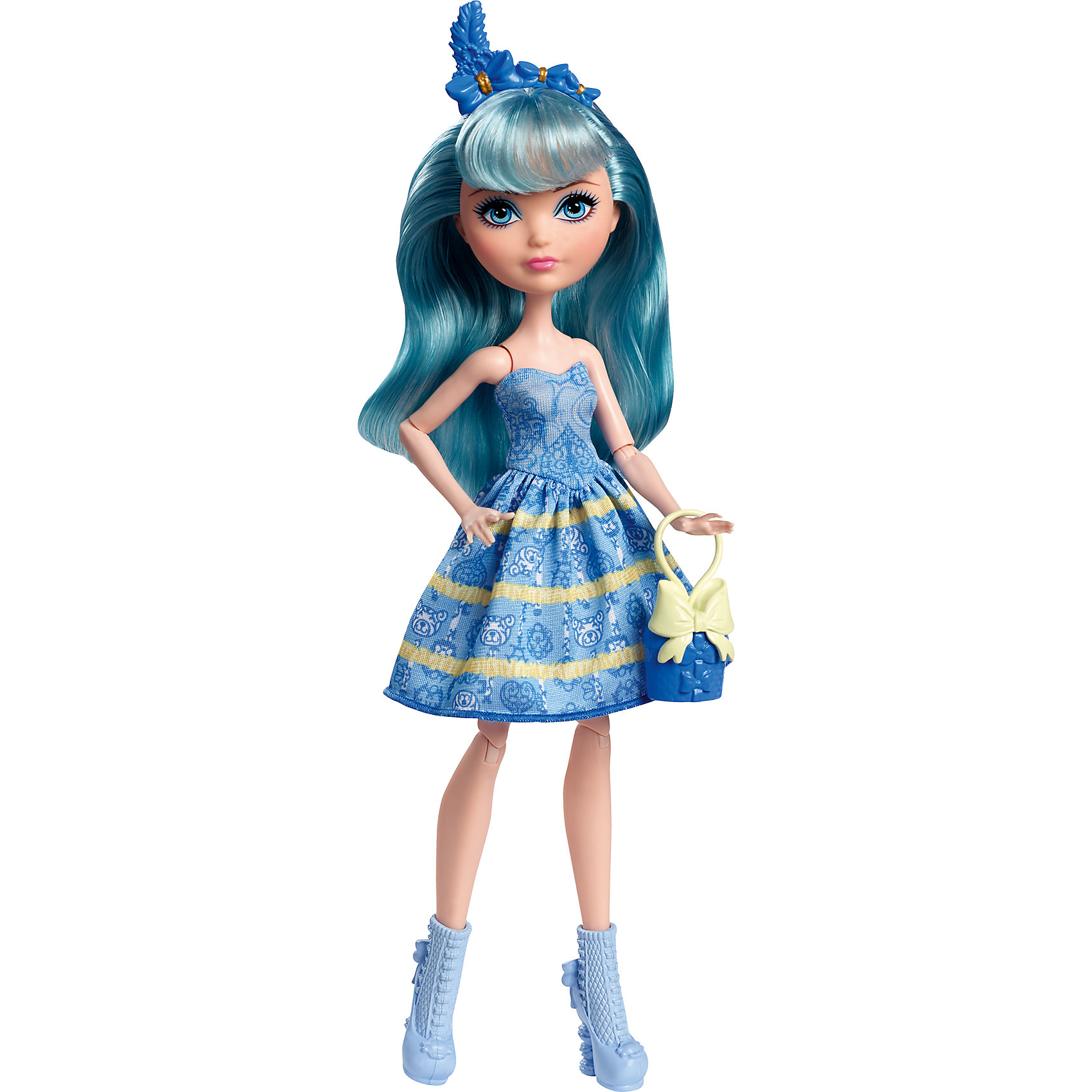 Mattel Кукла Блонди Локс из серии Именинный бал, Ever After High mattel набор блестящий вихрь из серии заколдованная зима кукла кристал винтер ever after high