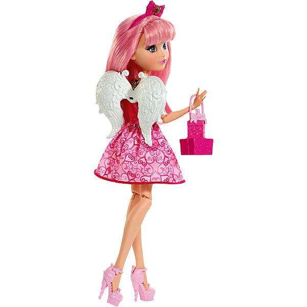 Кукла Эй-Си Кьюпид из серии Именинный бал, Ever After HighEver After High<br>Кукла Эй-Си Кьюпид, Ever After High™ (Эвер Афтер Хай) ? одна из могущественных принцесс серии Именинный бал, Ever After High. Куклы выполнены из безопасного эластичного пластика, головы из безопасного и нетоксичного ПВХ, волосы из нейлона. Все части тела: руки, ноги, голова ? подвижные.<br>Эй-Си Кьюпид ? дочь греческого бога любви, обучается с другими героинями знаменитого мультфильма Школа «Долго и Счастливо». В этой серии Блонди Локс, Эй-Си Кьюпид и Дачесс Свон предстают в нарядах для именинного бала. Вечерние наряды выполнены в оригинальном стиле, они напоминают формы различных любимых десертов. Наряд каждой принцессы демонстрирует индивидуальный стиль и характер героини. Комплект состоит из куклы и набора аксессуаров: сумочки в форме упакованного подарка, ободочка для головы, съемных крыльев и туфелек в тон платья. Куклы могут продаваться как в комплекте, так и отдельно. Куклам необходимы подставки.<br>Обращаем внимание, что цвета и украшения могут отличаться от представленных на фотографии.<br><br>Дополнительная информация:<br><br>- Вид игр: сюжетно-ролевые <br>- Предназначение: для дома<br>- Материал: пластик, ПВХ, текстиль, нейлон<br>- Комплектация: кукла и аксессуары: ободок для волос, ожерелье на шею, сумочка, туфельки<br>- Цвет: оттенки розового, золотистый, белый<br>- Размер (Д*Ш*В): 6,5*15*32,5 см<br>- Вес: 263 г <br>- Особенности ухода: куклу можно купать, аксессуары ? мыть в теплой мыльной воде, платье ? ручная стирка<br><br>Подробнее:<br><br>• Для детей в возрасте: от 6 лет и до 12 лет<br>• Страна производитель: Индонезия<br>• Торговый бренд: Mattel<br><br>Куклу Эй-Си Кьюпид, Ever After High™ (Эвер Афтер Хай) можно купить в нашем интернет-магазине.<br><br>Ширина мм: 65<br>Глубина мм: 150<br>Высота мм: 325<br>Вес г: 263<br>Возраст от месяцев: 72<br>Возраст до месяцев: 144<br>Пол: Женский<br>Возраст: Детский<br>SKU: 4867662