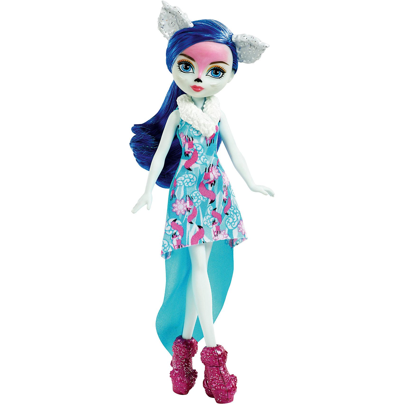 Mattel Кукла-пикси Фоксан из коллекции Заколдованная зима, Ever After High mattel кукла эппл уайт ever after high