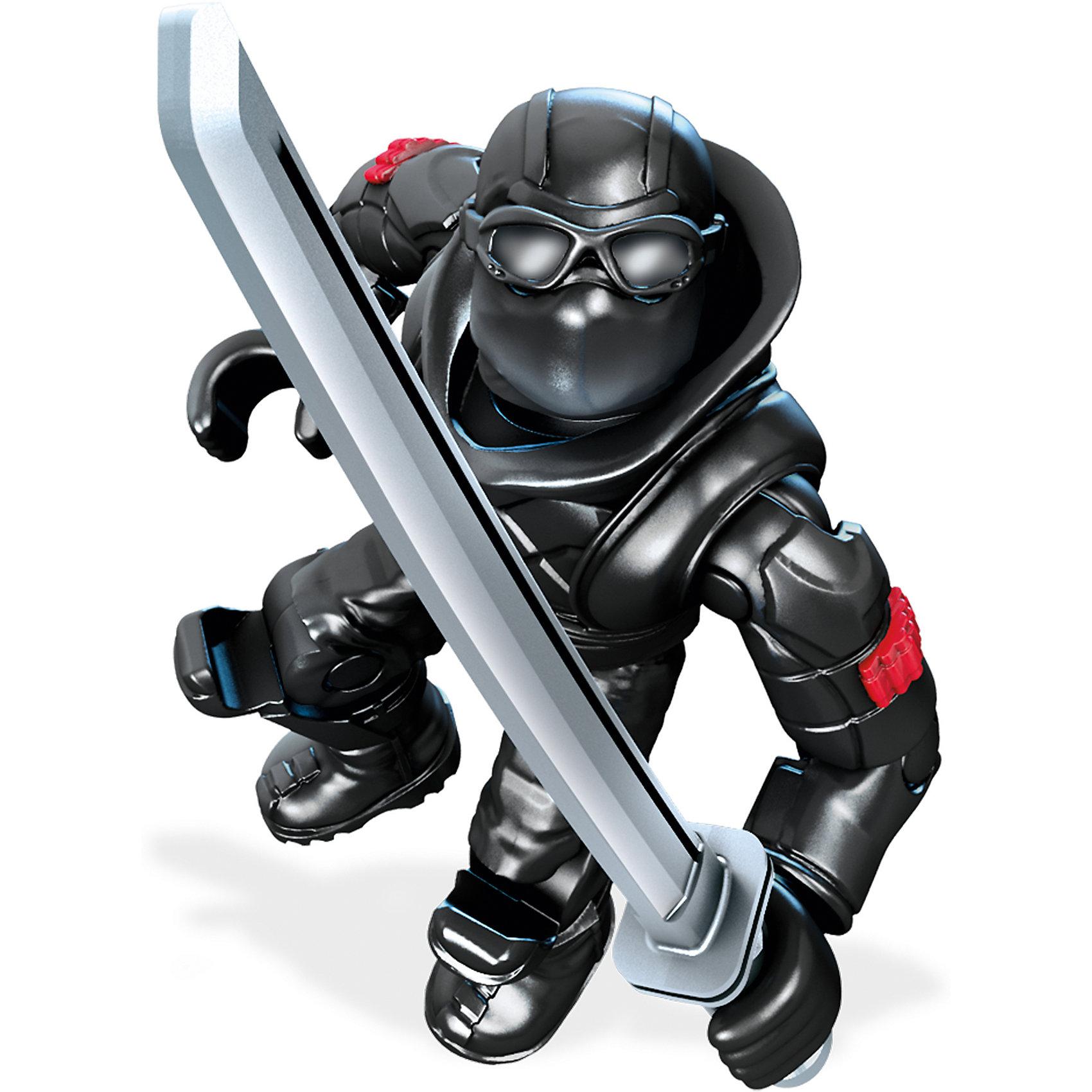 Фигурка персонажа фильма Черепашки Ниндзя II, Mega BloksФигурка Шреддер, Mega Bloks (Мега Блокс) ? один из героев персонажей фильма «Черепашки-ниндзя II». Коллекционная фигурка выполнена из безопасного пластика с яркими цветами, устойчивыми к повреждениям. Фигурка обладает 11 подвижными элементами и включает аксессуары, характерные для персонажа. Оружие фиксируется в руках.<br>Все элементы фигурки выполнены с точной детализацией героя фильма «Черепашки-ниндзя II». Шреддер ? главный недруг черепашек. Одет в черные одежды, владеет всеми видами оружия из арсенала нинзя.<br>Фигурка Шреддер, Mega Bloks (Мега Блокс) позволит вашему ребенку не только воспроизвести истории и сюжеты из фильма, но и придумать свою, новую историю борьбы с несправедливостью и преступностью.<br>Сюжетно-ролевые игры на основе конструктора позволят вашему ребенку развивать логическое мышление, воображение, а также тренировать память. <br><br>Дополнительная информация:<br><br>- Вид игр: сюжетно-ролевые <br>- Предназначение: для дома<br>- Материал: пластик<br>- Размер (Д*Ш*В): 2,5*9*12,5 см<br>- Вес: 14 г <br>- Особенности ухода: фигурки можно мыть в теплой мыльной воде<br><br>Подробнее:<br><br>• Для детей в возрасте: от 6 лет и до 12 лет<br>• Страна производитель: Китай<br>• Торговый бренд: Mega Bloks<br><br>Фигурку Шреддера, Mega Bloks (Мега Блокс), можно купить в нашем интернет-магазине.<br><br>Ширина мм: 25<br>Глубина мм: 90<br>Высота мм: 125<br>Вес г: 14<br>Возраст от месяцев: 72<br>Возраст до месяцев: 144<br>Пол: Мужской<br>Возраст: Детский<br>SKU: 4867670