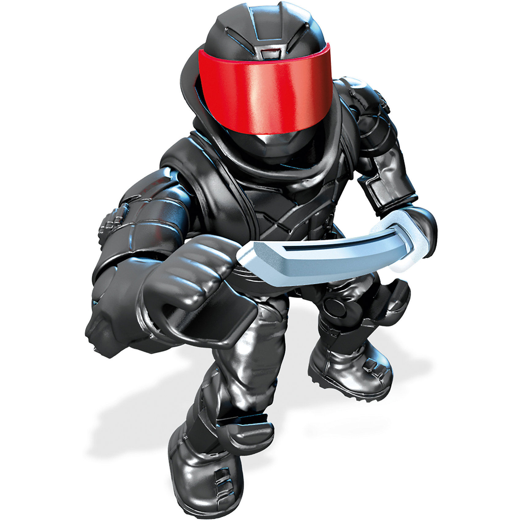 Фигурка персонажа фильма Черепашки Ниндзя II, Mega BloksФигурка солдат клана «Фут», Mega Bloks (Мега Блокс) ? один из героев персонажей фильма «Черепашки-ниндзя II». Коллекционная фигурка выполнена из безопасного пластика с яркими цветами, устойчивыми к повреждениям. Фигурка обладает 11 подвижными элементами и включает аксессуары, характерные для персонажа. Оружие фиксируется в руках.<br>Все элементы фигурки выполнены с точной детализацией героя фильма «Черепашки-ниндзя II». Солдат клана «Фут» ? один из недругов черепашек. Одет в черные одежды с красной банданой, владеет дубинками разных размеров.<br>Фигурка солдат клана «Фут», Mega Bloks (Мега Блокс) позволит вашему ребенку не только воспроизвести истории и сюжеты из фильма, но и придумать свою, новую историю борьбы с несправедливостью и преступностью.<br>Сюжетно-ролевые игры на основе конструктора позволят вашему ребенку развивать логическое мышление, воображение, а также тренировать память. <br><br>Дополнительная информация:<br><br>- Вид игр: сюжетно-ролевые <br>- Предназначение: для дома<br>- Материал: пластик<br>- Размер (Д*Ш*В): 2,5*9*12,5 см<br>- Вес: 14 г <br>- Особенности ухода: фигурки можно мыть в теплой мыльной воде<br><br>Подробнее:<br><br>• Для детей в возрасте: от 6 лет и до 12 лет<br>• Страна производитель: Китай<br>• Торговый бренд: Mega Bloks<br><br>Фигурку солдата клана «Фут», Mega Bloks (Мега Блокс), можно купить в нашем интернет-магазине.<br><br>Ширина мм: 25<br>Глубина мм: 90<br>Высота мм: 125<br>Вес г: 14<br>Возраст от месяцев: 72<br>Возраст до месяцев: 144<br>Пол: Мужской<br>Возраст: Детский<br>SKU: 4867673