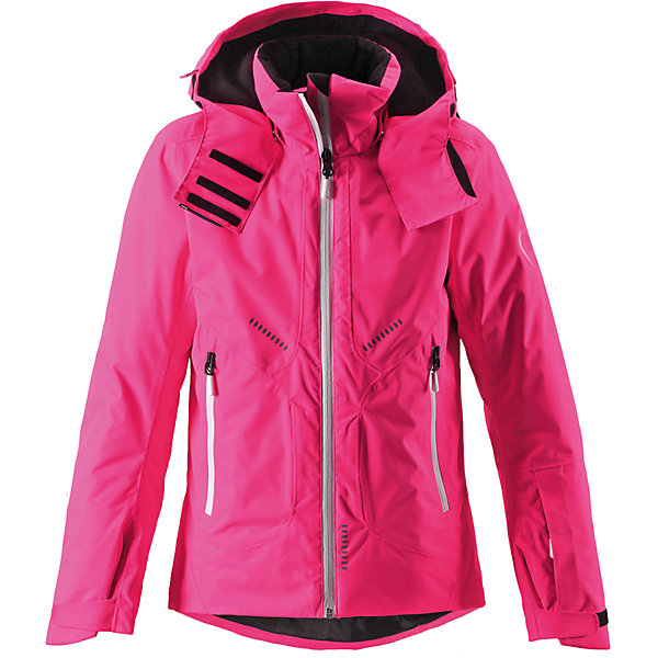 Куртка Reimatec® ReimaОдежда<br>Куртка Reimatec® Reima (Рейма), розовый от известного финского производителя теплой детской одежды Reima. Выполнена из полиэстера высокого качества с полиуретановым покрытием. Материал обладает воздухопроницаемыми, грязе и водоотталкивающими свойствами. Состав ткани защищает от потери цвета и формы даже при длительном использовании. Куртка имеет приталенный силуэт с удлиненной спинкой. У изделия – регулируемый капюшон, воротник-стойка, застежка-молния с защитой у подбородка, на рукавах предусмотрена регулировка по ширине за счет застежек на липучке. По бокам изделия имеются прорезные карманы на молнии. Все швы куртки проклеенные, имеется внутренняя застежка, что обеспечивает дополнительную защиту от холода и ветра. Изделие имеет среднюю степень утепления, его  можно носить до -20 градусов мороза.<br><br>Дополнительная информация:<br><br>- Предназначение: повседневная одежда, для прогулок<br>- Цвет: розовый<br>- Пол: для девочки<br>- Состав: 100% полиэстер<br>- Сезон: зима<br>- Особенности ухода: машинная стирка при температуре от 30 градусов, запрещается использовать отбеливающие средства<br><br>Подробнее:<br><br>• Для детей в возрасте: от 9 лет и до 10 лет<br>• Страна производитель: Китай<br>• Торговый бренд: Reima, Финляндия<br><br>Куртку Reimatec® Reima (Рейма), розовый можно купить в нашем интернет-магазине.<br>Ширина мм: 356; Глубина мм: 10; Высота мм: 245; Вес г: 519; Цвет: розовый; Возраст от месяцев: 96; Возраст до месяцев: 108; Пол: Женский; Возраст: Детский; Размер: 164,140,152,158,146,134; SKU: 4869720;