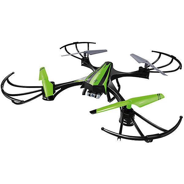 Радиоуправляемый HD Видео Дрон v950HD, Sky ViperКвадрокоптеры<br>Квадрокоптер с радиоуправлением HD Видео Дрон v950HD - желанный подарок для каждого современного ребенка (и не только). Он отличается компактным размером и небольшой массой, плюс мощный двигатель, за счет этого он становится маневренным и скоростным. Главное его преимущество - возможности видео- и фото- съемки, а также создания панорам 360 градусов. Разрешение - 1280?720p с углом обзора объектива 130°.<br>Выглядит дрон очень стильно - ударопрочный корпус (технология Duraflex) обеспечивает его сохранность. Лопасти защищены ударопрочными рамками из гибкого пластика, при необходимости они легко демонтируются для облегчения конструкции. Квадрокоптер может двигаться летать во всех направлениях: горизонтально, вертикально, вращаться по часовой стрелке и против, может даже совершать фигуры высшего пилотажа (Бочка и Флип). В дроне есть гироскоп, делающий полет стабильным, а также дающий возможность держать квадрокоптер в подвешенном состоянии. Есть система, регулирующая помехи. Может летать на улице или в помещении.<br><br>Дополнительная информация:<br><br>материал: металл, пластик;<br>управление: пульт ДУ  на батарейках 4хААА 1.5В, не входят в комплект;<br>направления: вверх/вниз, влево/вправо, вперед/назад, вращение по/против часовой стрелки;<br>частота: 2,4 ГГц;<br>количество каналов: 9.<br>гироскоп/акселерометр: 6-ти осевой;<br>дальность управления: ~ 60 м;<br>время полета: 10-15 минут;<br>время зарядки: 30 минут;<br>аккумулятор: 3.7В 100 мАч Li-Po;<br>три режима;<br>камера HD: 1280x720p (съемная);<br>угол обзора: 130°;<br>скорость: 22 км/ч;<br>фигуры: Бочка, Флип;<br>размер: 32,2х32,2х6 см;<br>корпус: 6х11х6 см;<br>комплектация: дрон, пульт, комплект запасных лопастей (4 шт), комплект запасных винтов (4 шт), отвертка, инструкция, кабель USB для зарядки, USB адаптер для Micro SD карты, карта памяти Micro SD 4 ГБ.<br><br>Радиоуправляемый HD Видео Дрон v950HD от бренда Sky Viper можно купить в нашем магазине
