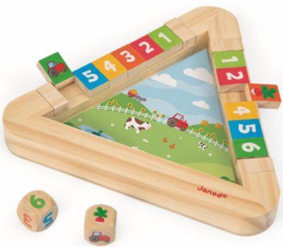 Настольная Игра С Кубиками Огород , Janod