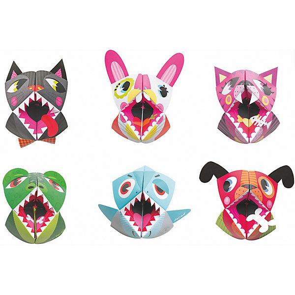 Набор для творчества: оригами Животные, 6 карточекНаборы для раскрашивания<br>Набор для творчества: оригами Животные, 6 карточек, Janod (Джанод)<br><br>Характеристики:<br><br>• развивает мелкую моторику, внимательность, аккуратность и усидчивость<br>• удобно хранить<br>• материал: бумага, металл<br>• в комплекте: 6 заготовок, карточка с наклейками, карточка для вырезания, чемоданчик для хранения<br><br>Оригами - очень увлекательный вид творчества, который помогает развивать мелкую моторику, внимательность и усидчивость. С помощью набора Животные ребенок сможет создать 6 забавных зверюшек с глазками и клыками. После создания игрушки из бумаги нужно дополнить их глазами и носами, они легко наклеиваются. А вот клыки и ушки придется вырезать и после этого приклеить. Готовая работа порадует ребенка, и он с радостью будет играть в игрушки, сделанные своими руками.<br><br>Набор для творчества: оригами Животные, 6 карточек, Janod (Джанод) можно купить в нашем интернет-магазине.<br>Ширина мм: 26; Глубина мм: 21; Высота мм: 4; Вес г: 600; Возраст от месяцев: 48; Возраст до месяцев: 2147483647; Пол: Унисекс; Возраст: Детский; SKU: 4871829;