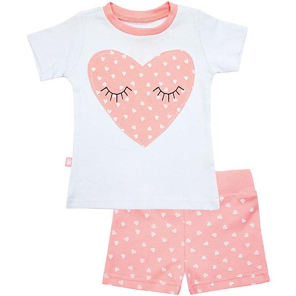 Пижама: футболка и шорты для девочки KotMarKotПижамы и сорочки<br>Пижама: футболка и шорты для девочки от известного бренда KotMarKot<br>Состав:<br>100% хлопок<br><br>Ширина мм: 281<br>Глубина мм: 70<br>Высота мм: 188<br>Вес г: 295<br>Цвет: розовый<br>Возраст от месяцев: 60<br>Возраст до месяцев: 72<br>Пол: Женский<br>Возраст: Детский<br>Размер: 116,128,134,110,122,104<br>SKU: 4873288
