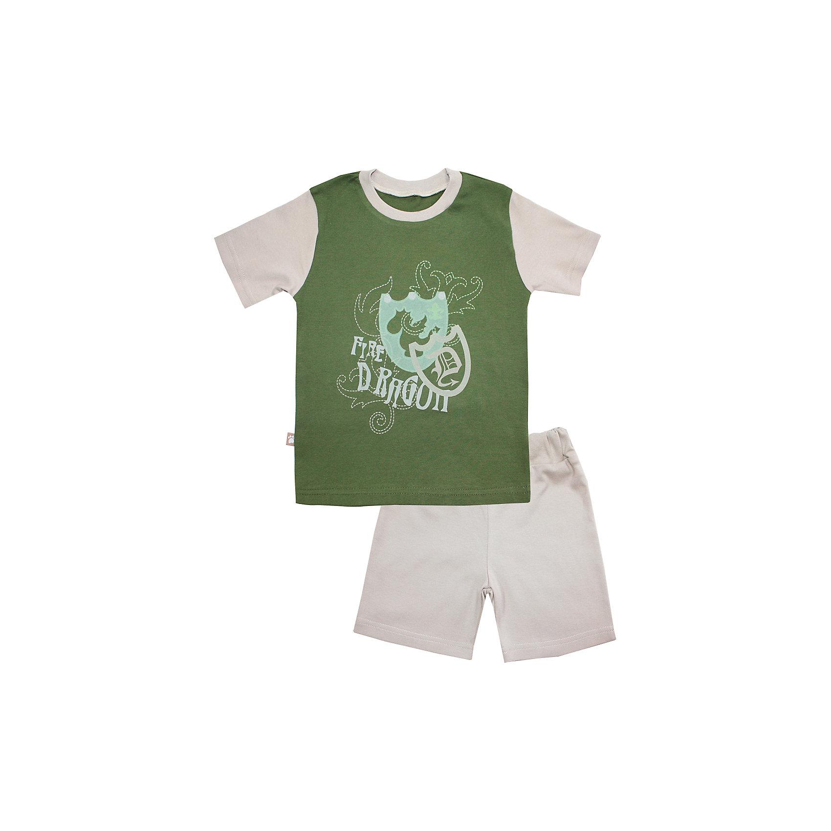 Пижама: футболка и шорты для мальчика KotMarKotПижамы и сорочки<br>Пижама: футболка и шорты для мальчика от известного бренда KotMarKot<br>Состав:<br>100% хлопок<br><br>Ширина мм: 281<br>Глубина мм: 70<br>Высота мм: 188<br>Вес г: 295<br>Цвет: зеленый<br>Возраст от месяцев: 60<br>Возраст до месяцев: 72<br>Пол: Мужской<br>Возраст: Детский<br>Размер: 116,110,122,134,104,128<br>SKU: 4873295