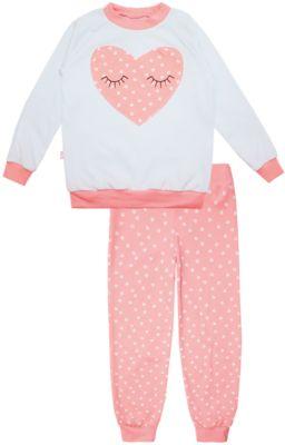КотМарКот Пижама: футболка с длинным рукавом и штаны для девочки KotMarKot фото-1