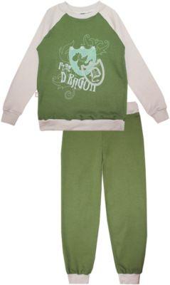 КотМарКот Пижама: футболка с длинным рукавом и штаны для мальчика KotMarKot