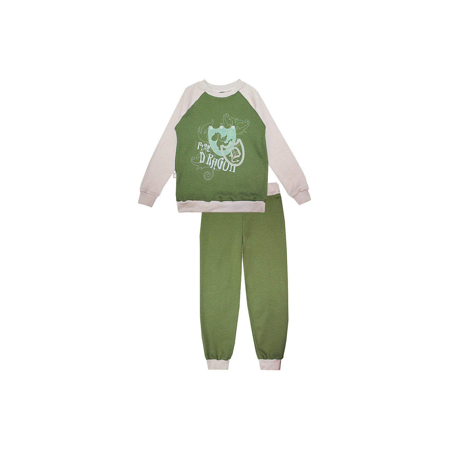 Пижама: футболка с длинным рукавом и штаны для мальчика KotMarKotПижамы и сорочки<br>Пижама: футболка с длинным рукавом и штаны для мальчика от известного бренда KotMarKot<br>Состав:<br>100% хлопок<br><br>Ширина мм: 281<br>Глубина мм: 70<br>Высота мм: 188<br>Вес г: 295<br>Цвет: зеленый<br>Возраст от месяцев: 36<br>Возраст до месяцев: 48<br>Пол: Мужской<br>Возраст: Детский<br>Размер: 104,116,134,110,122,128<br>SKU: 4873318