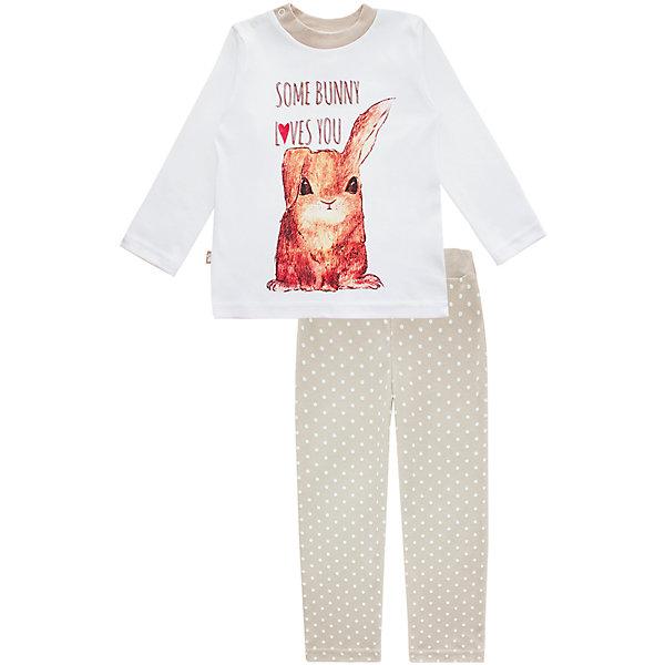 Пижама: футболка с длинным рукавом и штаны для девочки KotMarKotПижамы и сорочки<br>Пижама: футболка с длинным рукавом и штаны для девочки от известного бренда KotMarKot<br>Состав:<br>100% хлопок<br><br>Ширина мм: 281<br>Глубина мм: 70<br>Высота мм: 188<br>Вес г: 295<br>Цвет: бежевый<br>Возраст от месяцев: 60<br>Возраст до месяцев: 72<br>Пол: Женский<br>Возраст: Детский<br>Размер: 116,110,122,92,128,134,98,104<br>SKU: 4873325