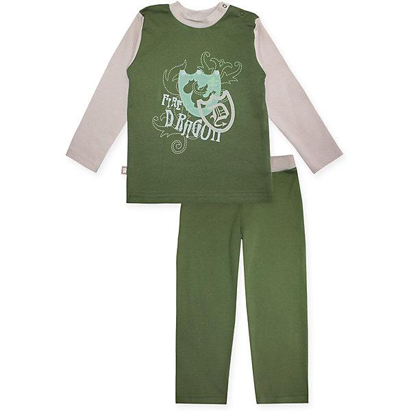 Пижама: футболка с длинным рукавом и штаны для мальчика KotMarKotПижамы и сорочки<br>Характеристики товара:<br><br>• цвет: зеленый<br>• комплектация: лонгслив и брюки<br>• состав ткани: 100% хлопок<br>• сезон: круглый год<br>• длинные рукава<br>• пояс: резинка<br>• страна бренда: Россия<br>• страна изготовитель: Россия<br><br>Российский бренд KotMarKot - это стильный продуманный дизайн и неизменно высокое качество исполнения. Такая детская пижама обеспечит ребенку комфорт во время сна. Пижама для ребенка сделана из мягкого и дышащего хлопка. Детская пижама комфортно сидит, не вызывает неудобств. <br><br>Пижаму: футболка с длинным рукавом и штаны KotMarKot (КотМарКот) для мальчика можно купить в нашем интернет-магазине.<br>Ширина мм: 281; Глубина мм: 70; Высота мм: 188; Вес г: 295; Цвет: зеленый; Возраст от месяцев: 84; Возраст до месяцев: 96; Пол: Мужской; Возраст: Детский; Размер: 128,110,122,104,134,116; SKU: 4873341;