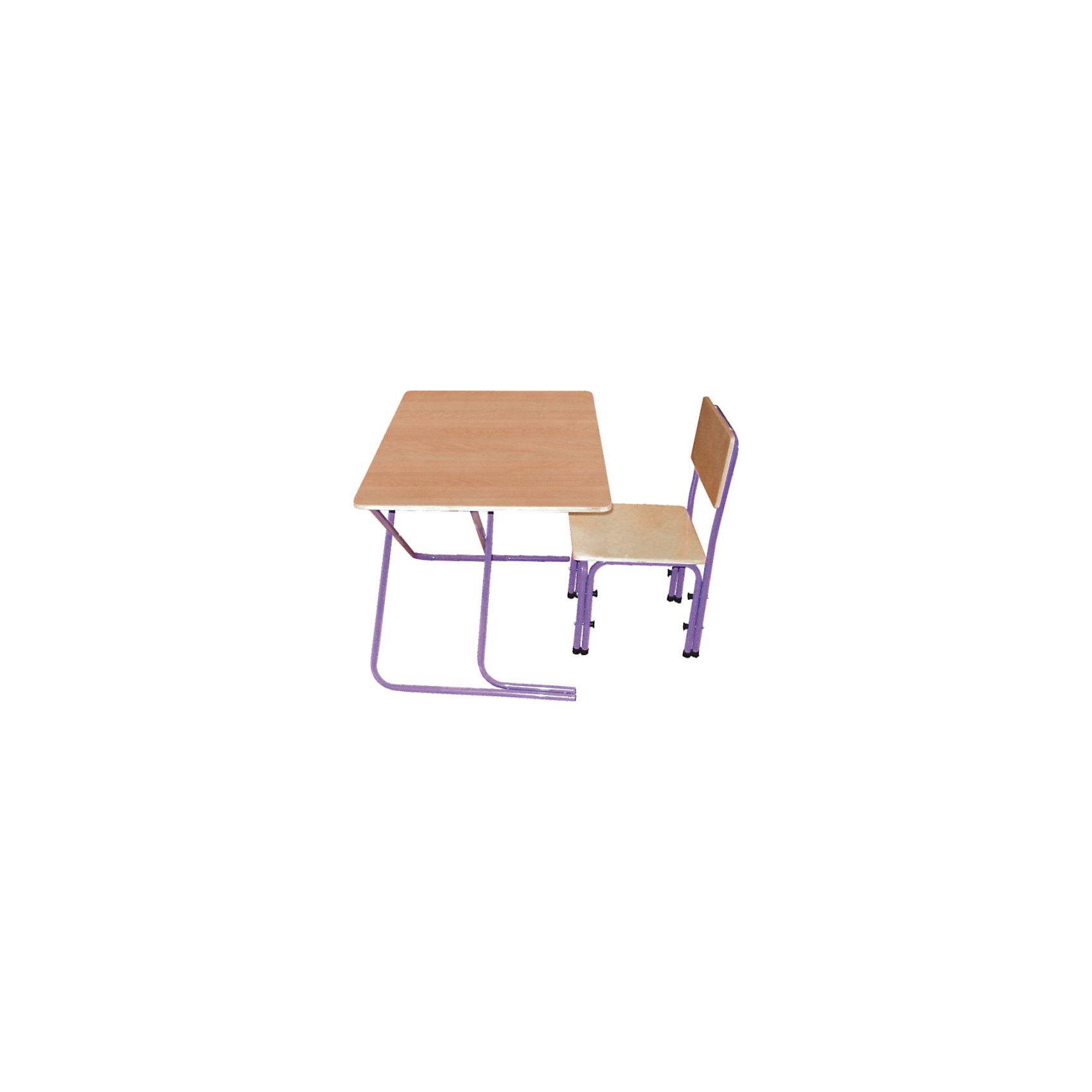 Комплект детской мебели Вырастайка, Фея, натуральный