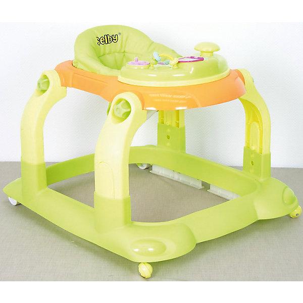 Ходунки BS-511, Selby, салатовыйХодунки<br>Эти ходунки от Selby разработаны для малышей в возрасте от полугода, которые только учатся ходить. Конструкция с двумя парами колес, одна из которых - поворотная, обеспечивает ребенку удобство, как и комфортное сиденье. Его можно отрегулировать по росту ребенка. Удобная спинка помогает сформировать правильную осанку. <br>На переднем столике есть развлекательная панель разными с игрушками. Она снимается и используется отдельно от ходунков. Изделие легко моется. Легкий пластик отличается прочностью. Все материалы тщательно подобраны специалистами и безопасны для детей.<br><br>Дополнительная информация:<br><br>цвет: салатовый;<br>возраст: от полугода;<br>материал: пластик;<br>габариты: 71 х 62 х 57 см;<br>вес: 2800 г;<br>облегченная рама из пластика;<br>четыре пластиковых колеса, два поворотные;<br>сиденье регулируется по высоте в 3 положениях.<br>чехлы съемные;<br>есть стопоры;<br>Игровая панель съемная;<br>складная конструкция.<br><br>Ходунки BS-511 от компании Selby можно купить в нашем магазине.<br><br>Ширина мм: 570<br>Глубина мм: 710<br>Высота мм: 620<br>Вес г: 4800<br>Возраст от месяцев: 6<br>Возраст до месяцев: 36<br>Пол: Унисекс<br>Возраст: Детский<br>SKU: 4873607