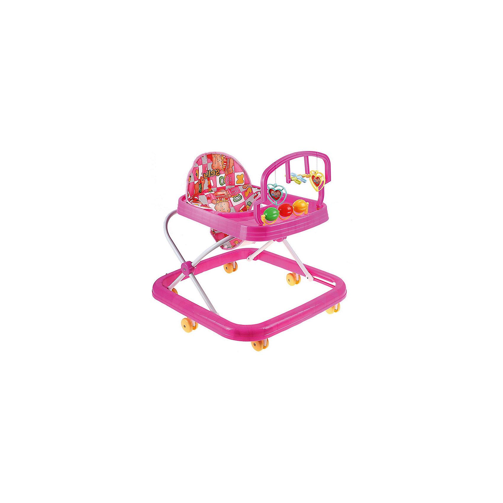 Ходунки HG-171, SelbyХодунки<br>Эти ходунки от Selby разработаны для малышей в возрасте от полугода, которые только учатся ходить. Конструкция с шестью колесами обеспечивает ребенку удобство, как и комфортное сиденье. Удобная спинка помогает сформировать правильную осанку. <br>На переднем столике есть развлекательная панель с разными игрушками. Изделие легко моется. Легкий пластик отличается прочностью. Все материалы тщательно подобраны специалистами и безопасны для детей.<br><br>Дополнительная информация:<br><br>цвет: разноцветный;<br>возраст: от полугода;<br>материал: пластик, металл, текстиль;<br>габариты:  63 х 57 х 55 см;<br>вес: 2210 г;<br>шесть колес;<br>сиденье снимается.<br>игровая панель.<br><br>Ходунки HG-171 от компании Selby можно купить в нашем магазине.<br><br>Ширина мм: 630<br>Глубина мм: 570<br>Высота мм: 550<br>Вес г: 2760<br>Возраст от месяцев: 6<br>Возраст до месяцев: 36<br>Пол: Унисекс<br>Возраст: Детский<br>SKU: 4873608
