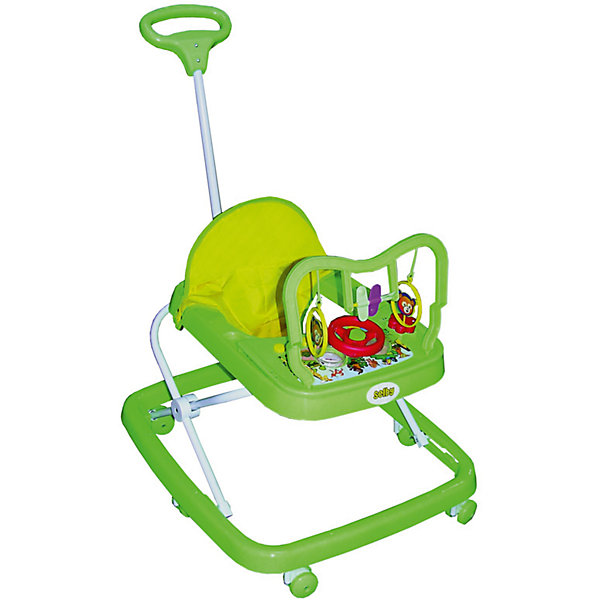 Ходунки HG-172, SelbyХодунки<br>Эти ходунки от Selby разработаны для малышей в возрасте от полугода, которые только учатся ходить. Конструкция с шестью колесами обеспечивает ребенку удобство, как и комфортное сиденье. Удобная спинка помогает сформировать правильную осанку. <br>На переднем столике есть развлекательная панель с разными игрушками. Изделие легко моется. Легкий пластик отличается прочностью. Все материалы тщательно подобраны специалистами и безопасны для детей.<br><br>Дополнительная информация:<br><br>цвет: разноцветный;<br>возраст: от полугода;<br>материал: пластик, металл, текстиль;<br>габариты:  63 х 57 х 55 см;<br>вес: 2210 г;<br>шесть колес;<br>сиденье снимается.<br>игровая панель.<br><br>Ходунки HG-172 от компании Selby можно купить в нашем магазине.<br><br>Ширина мм: 630<br>Глубина мм: 570<br>Высота мм: 550<br>Вес г: 2760<br>Возраст от месяцев: 6<br>Возраст до месяцев: 36<br>Пол: Унисекс<br>Возраст: Детский<br>SKU: 4873609