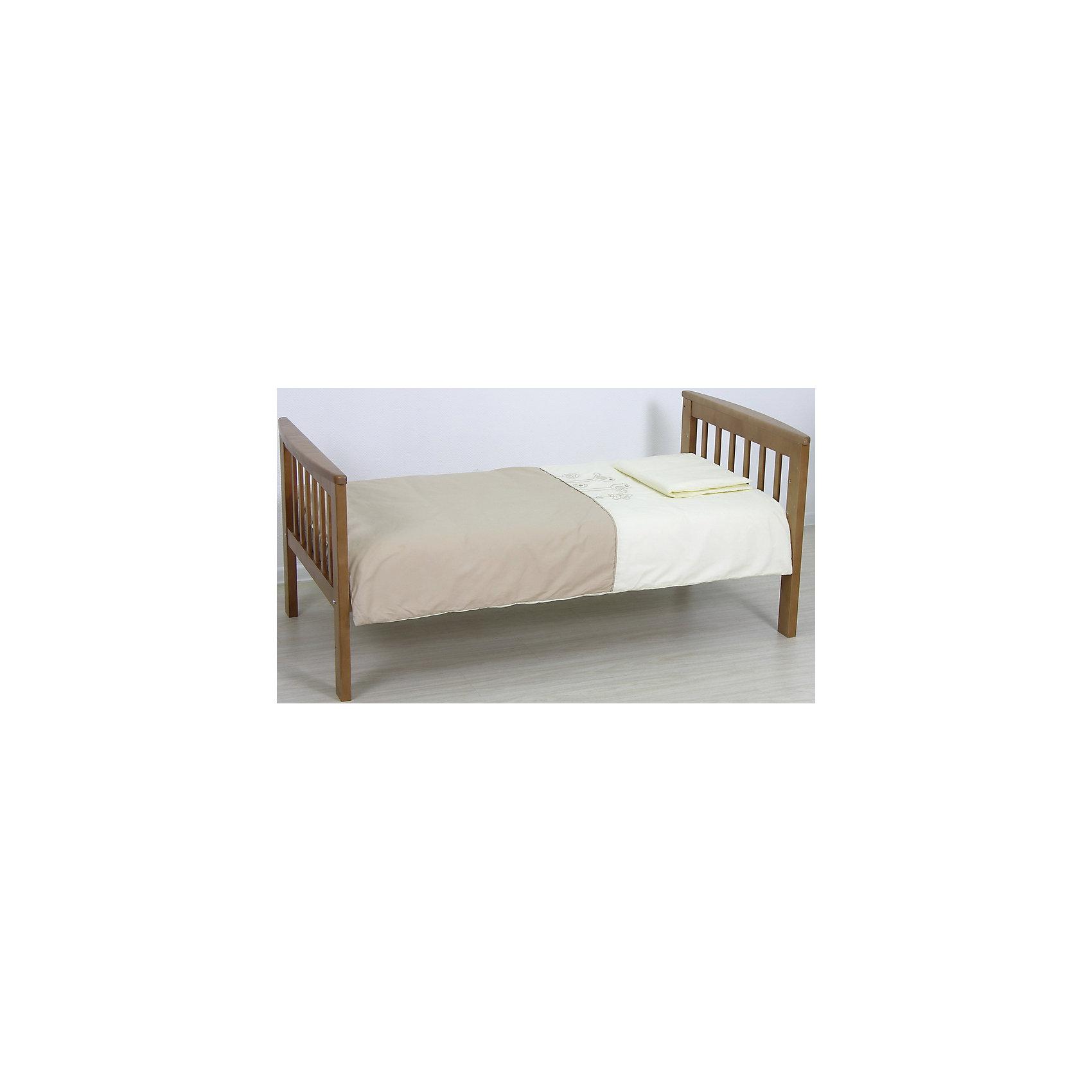 Детская кровать-трансформер 800, Фея, медовый (ФЕЯ)