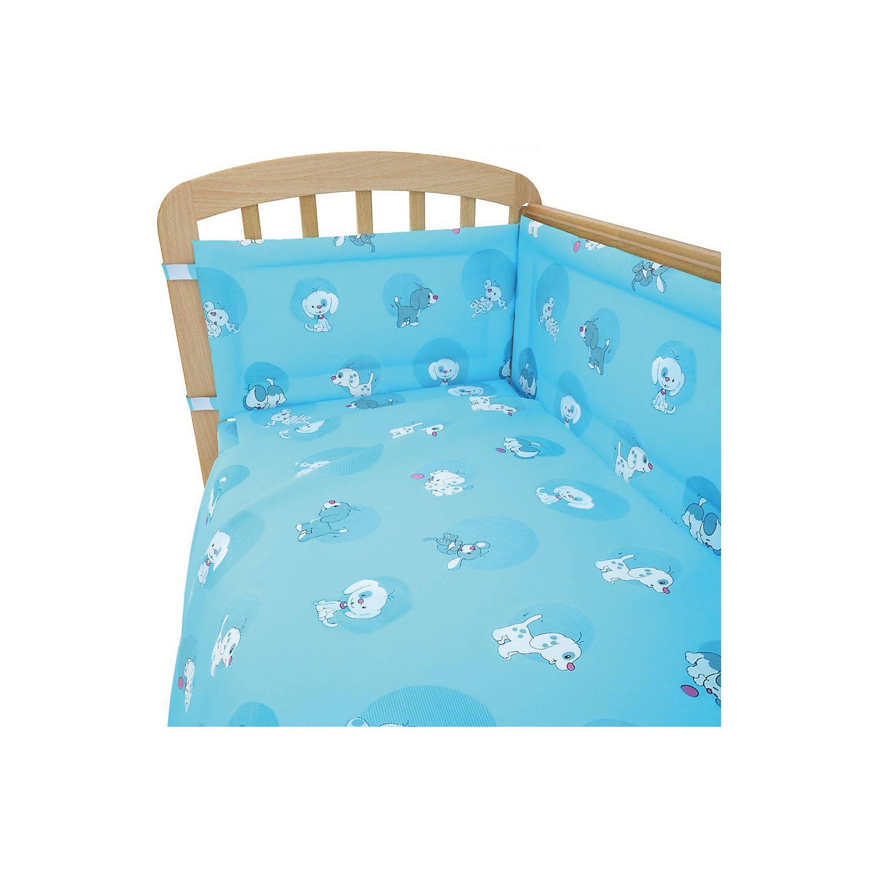 Постельное белье Наши друзья 3 пред., Фея, голубойЛучшее постельное белье для детей делается из натуральных материалов. Этот комплект, состоящий  из наволочки, простыни и пододеяльника, сшит из хлопка, гипоаллергенного, приятного на ощупь и позволяющего коже дышать.<br>Все предметы из набора - стандартных размеров, отлично подойдут к обычной подушке, матрасу и одеялу. Простыня - на резинке, это поможет обеспечить малышу комфорт на всю ночь. Комплект украшен принтом с щенками - на нем малышу будет приятно засыпать! Симпатичная расцветка комплекта отлично подойдет к интерьеру детской.<br><br>Дополнительная информация:<br><br>цвет: голубой, принт;<br>материал: 100% хлопок;<br>наволочка: 40 х 60 см,<br>простыня на резинке: 120 х 60 см,<br>пододеяльник: 110 х 140 см.<br><br>Постельное белье Наши друзья 3 пред., торговой марки Фея можно купить в нашем магазине.<br><br>Ширина мм: 500<br>Глубина мм: 600<br>Высота мм: 100<br>Вес г: 700<br>Возраст от месяцев: 0<br>Возраст до месяцев: 36<br>Пол: Мужской<br>Возраст: Детский<br>SKU: 4873632