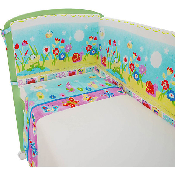 Постельное белье Улыбка 3 пред., ФеяПостельное белье в кроватку новорождённого<br>Хорошее постельное белье для детей делается из натуральных материалов. Этот комплект, состоящий  из наволочки, простыни и пододеяльника, сшит из хлопка, гипоаллергенного, приятного на ощупь и позволяющего коже дышать.<br>Все предметы из набора - стандартных размеров, отлично подойдут к обычной подушке, матрасу и одеялу. Простыня - на резинке, это поможет обеспечить малышу комфорт на всю ночь. Комплект украшен ярким принтом - на нем малышу будет приятно засыпать! Симпатичная расцветка комплекта отлично подойдет к интерьеру детской.<br><br>Дополнительная информация:<br><br>цвет: разноцветный, принт;<br>материал: 100% хлопок;<br>наволочка: 40 х 60 см,<br>простыня на резинке: 120 х 60 см,<br>пододеяльник: 110 х 140 см.<br><br>Постельное белье Улыбка 3 пред., торговой марки Фея можно купить в нашем магазине.<br><br>Ширина мм: 500<br>Глубина мм: 600<br>Высота мм: 100<br>Вес г: 700<br>Возраст от месяцев: 0<br>Возраст до месяцев: 36<br>Пол: Унисекс<br>Возраст: Детский<br>SKU: 4873636