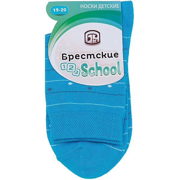 Носки БрестскиеНоски<br>Носки детские, двойной борт, гладкие, с различными рисунками для мальчиков и девочек.<br>От белорусского производителя. <br><br>Состав: Хлопок-70%, ПА-28%, Эластан-2%<br><br>Ширина мм: 87<br>Глубина мм: 10<br>Высота мм: 105<br>Вес г: 115<br>Цвет: голубой<br>Возраст от месяцев: 48<br>Возраст до месяцев: 60<br>Пол: Унисекс<br>Возраст: Детский<br>Размер: 17/18,19/20<br>SKU: 4873796